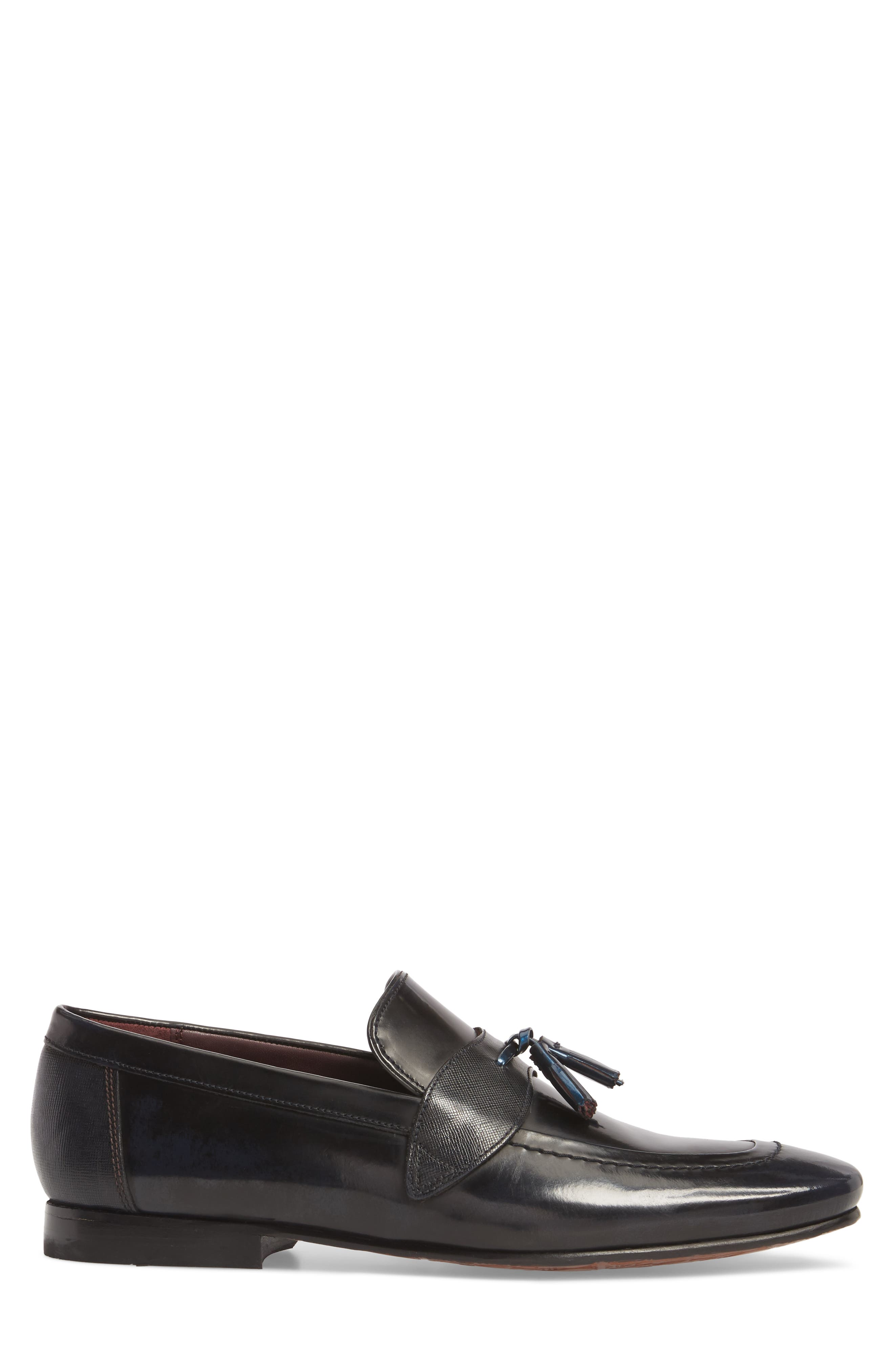 Grafit Tassel Loafer,                             Alternate thumbnail 3, color,                             416