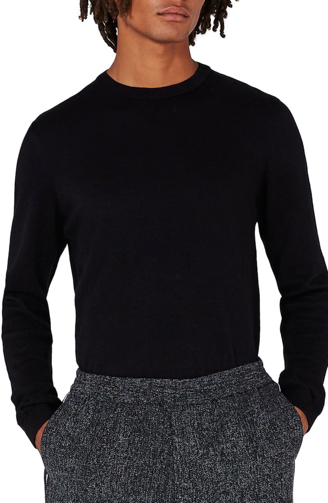 Side Rib Cotton Sweater,                         Main,                         color,