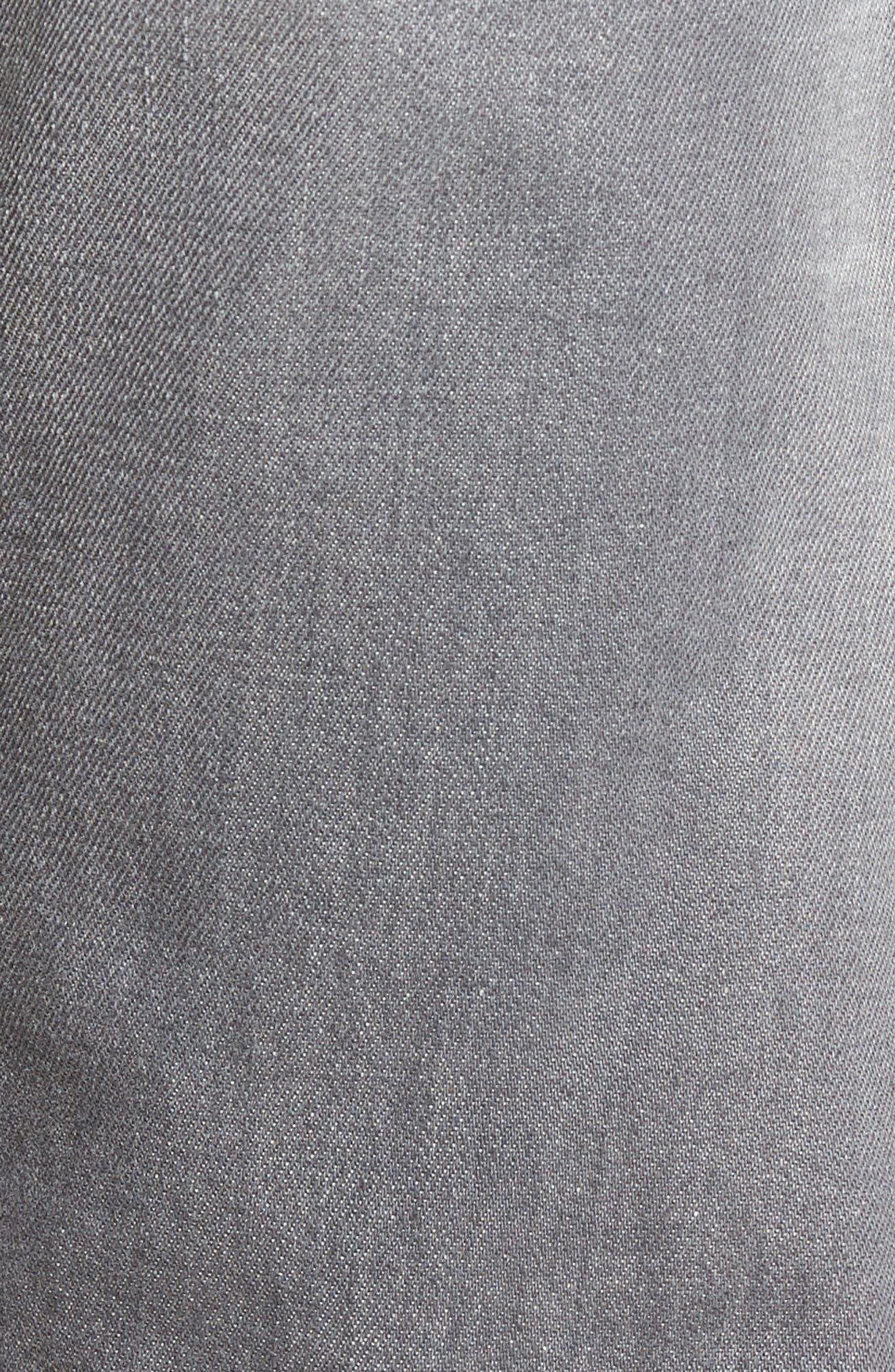 DIESEL Buster Slim Straight Leg Jeans,                             Alternate thumbnail 5, color,                             400