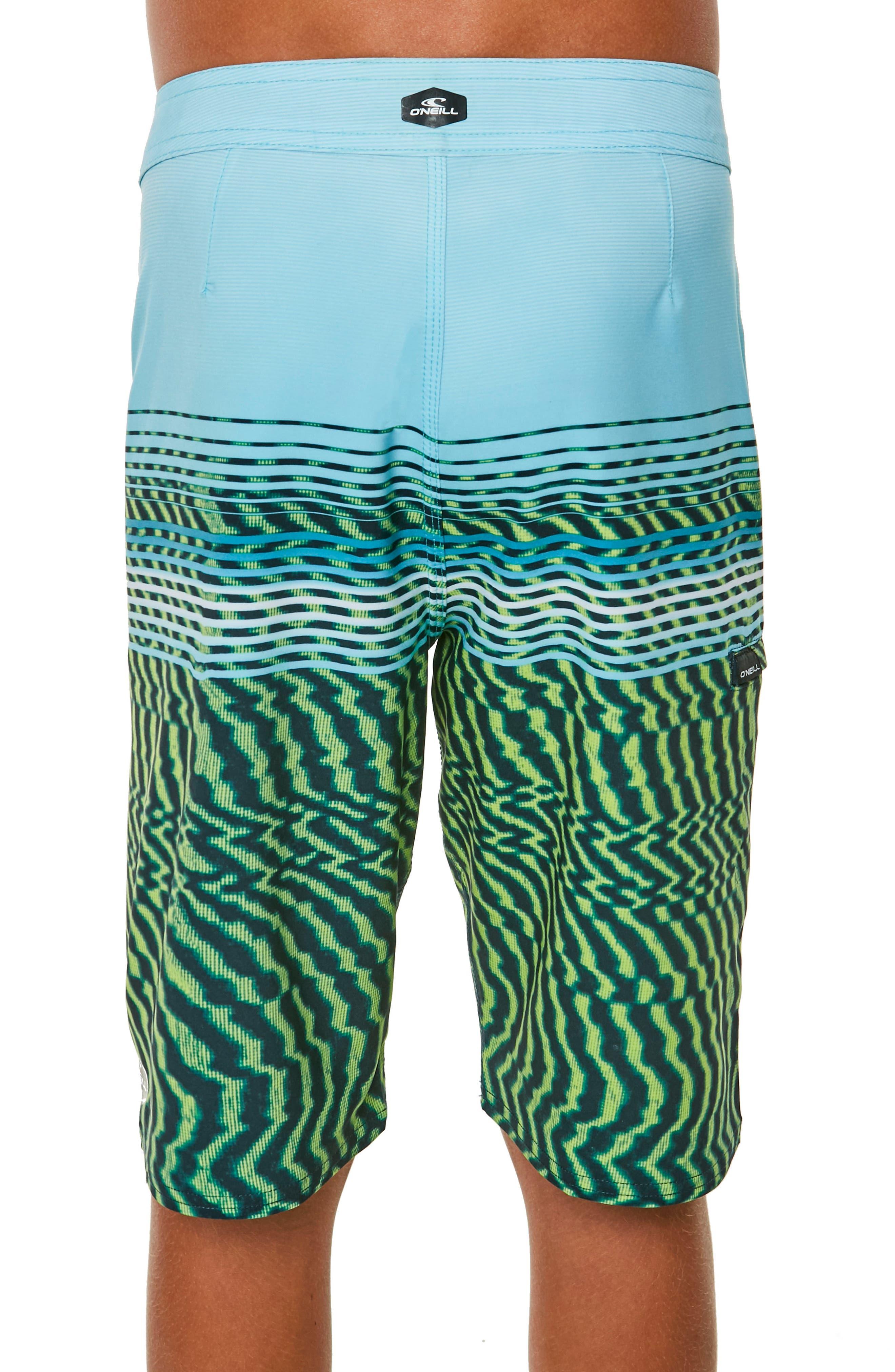 Hyperfreak Wavelength Board Shorts,                             Alternate thumbnail 3, color,                             305