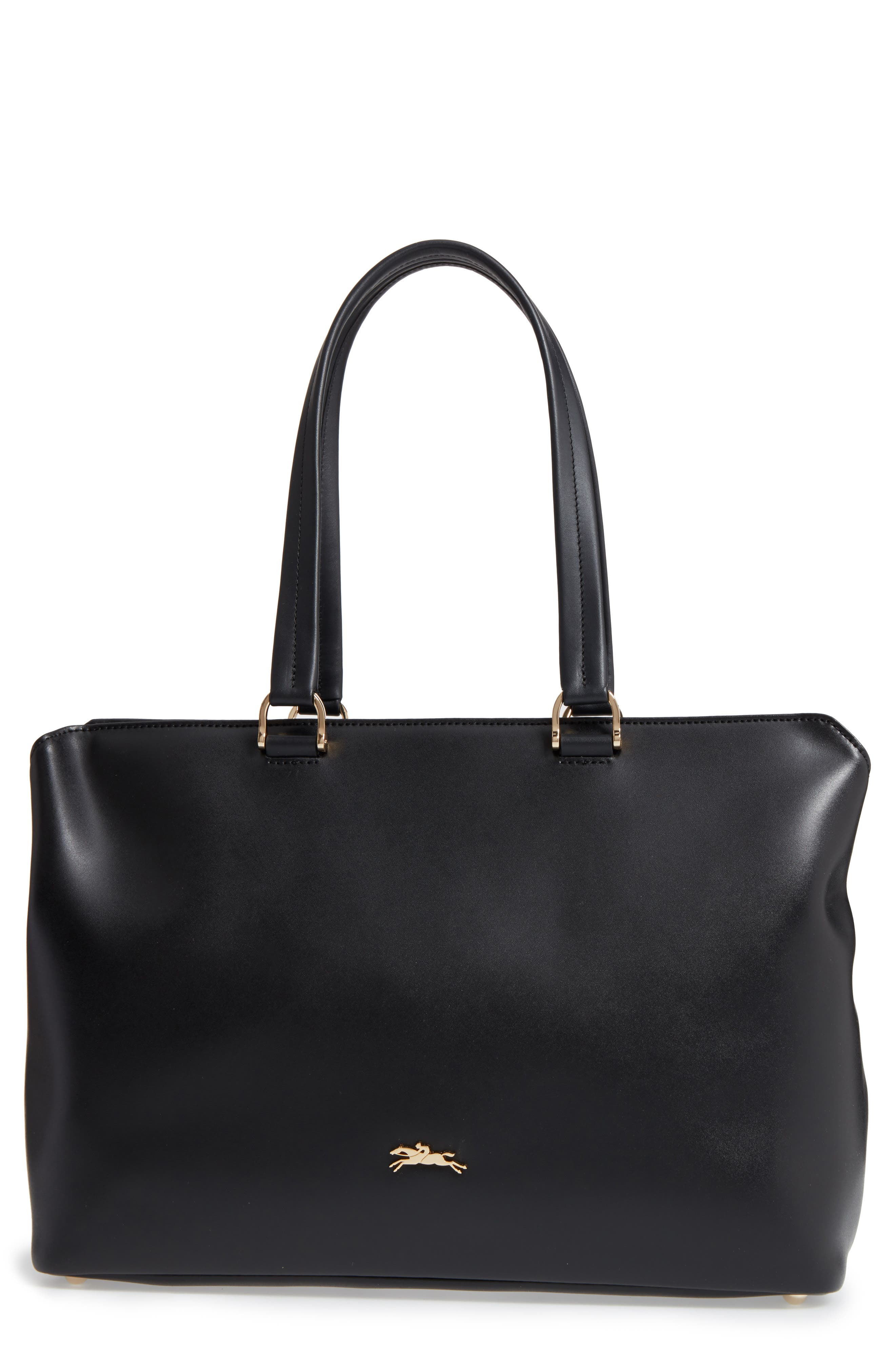Honoré 404 Leather Tote,                         Main,                         color, 001
