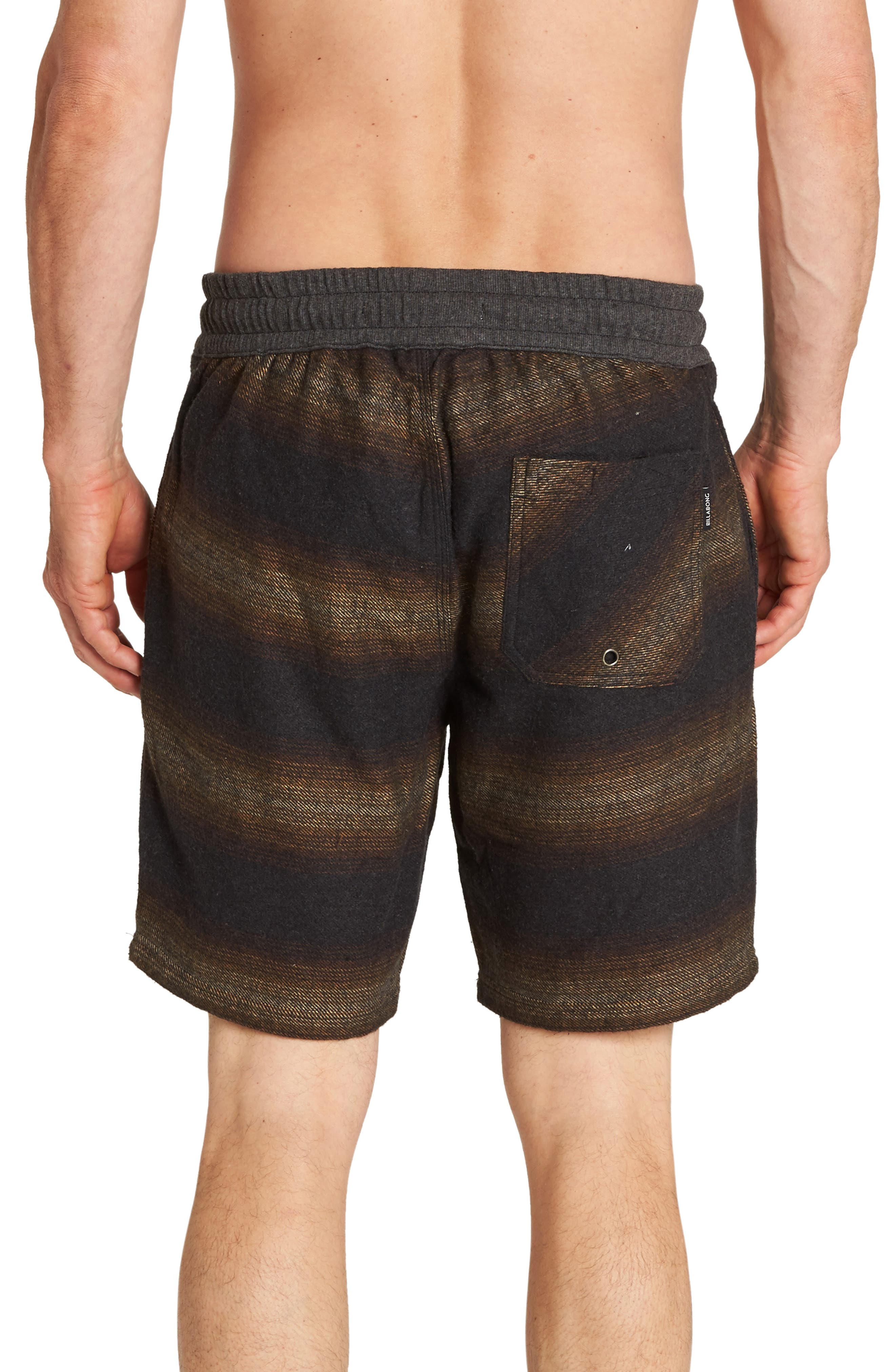 Larry Layback Baja Shorts,                             Alternate thumbnail 2, color,                             BLACK