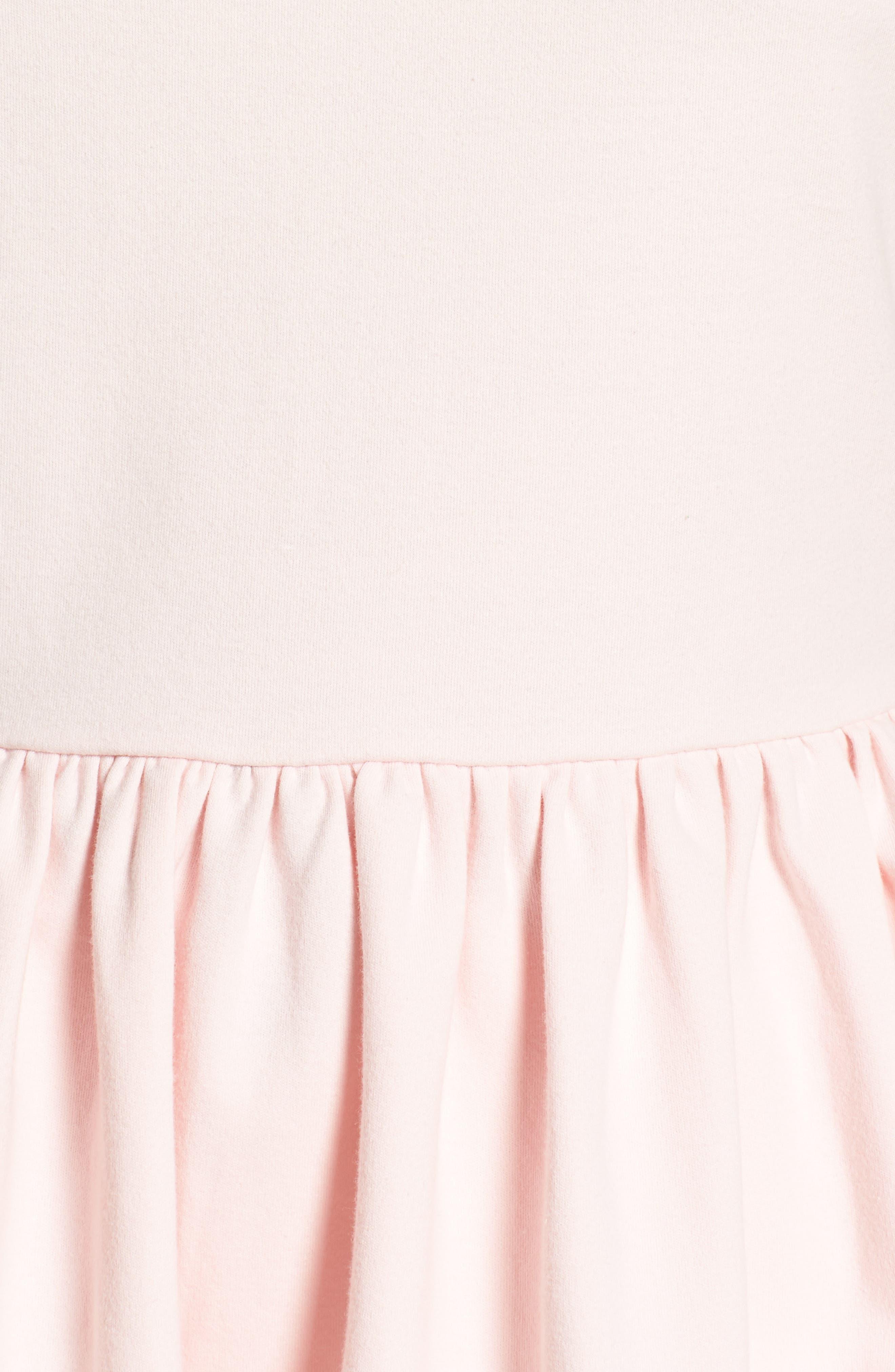Stripe Knit Peplum Top,                             Alternate thumbnail 19, color,