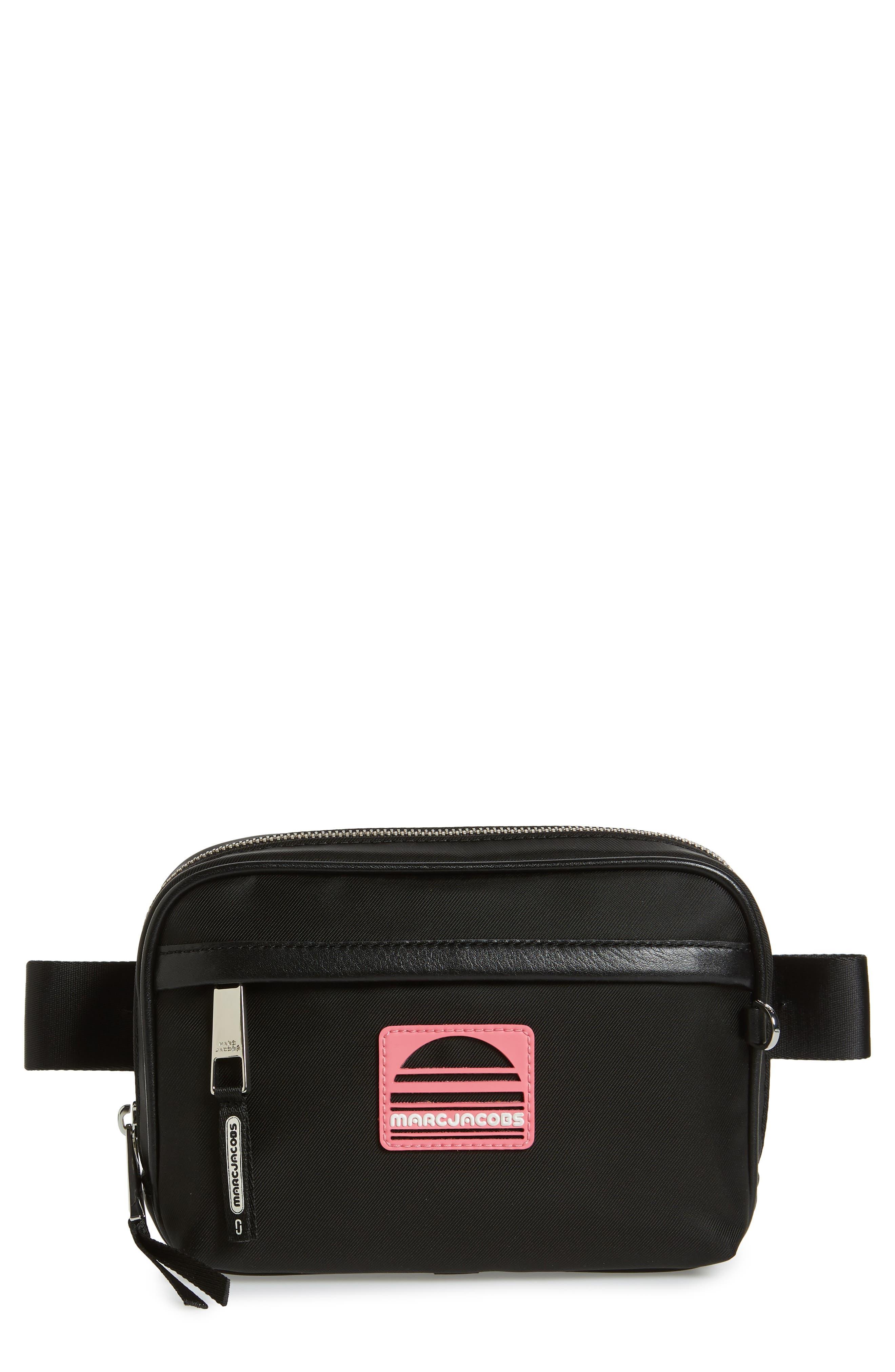 Sport Belt Bag,                         Main,                         color, BLACK