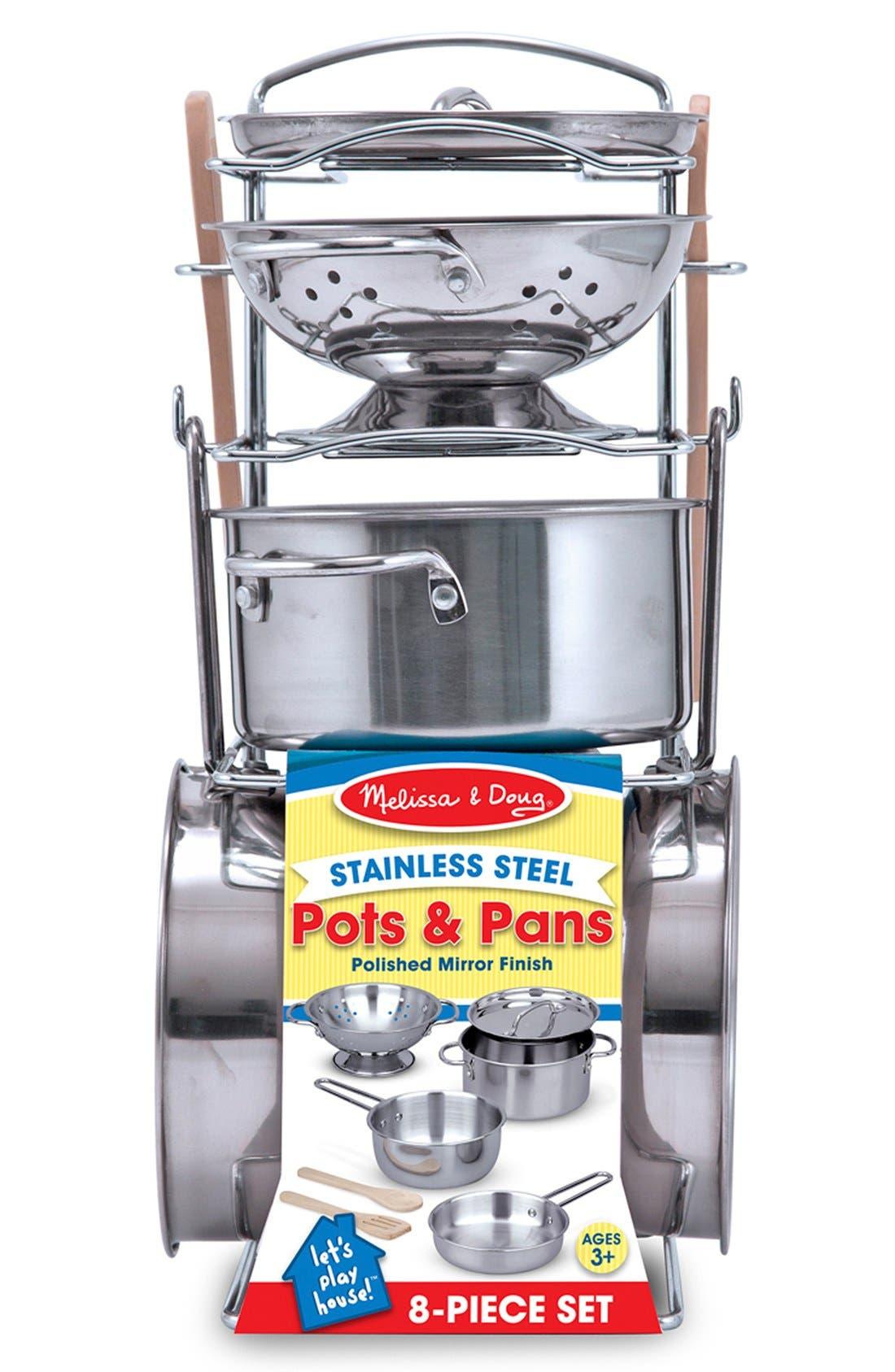 MELISSA & DOUG,                             Wash & Dry Dish Set Toy,                             Alternate thumbnail 3, color,                             NO COLOR