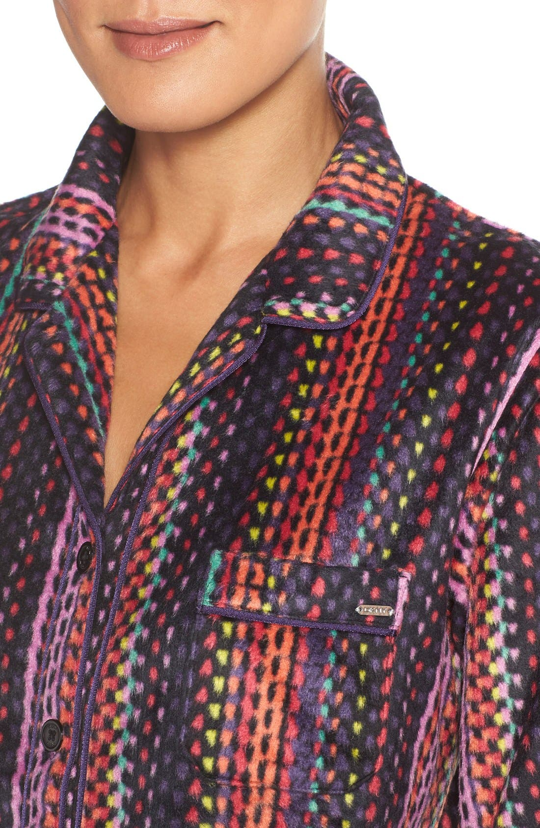 Microfleece Pajamas,                             Alternate thumbnail 2, color,                             001