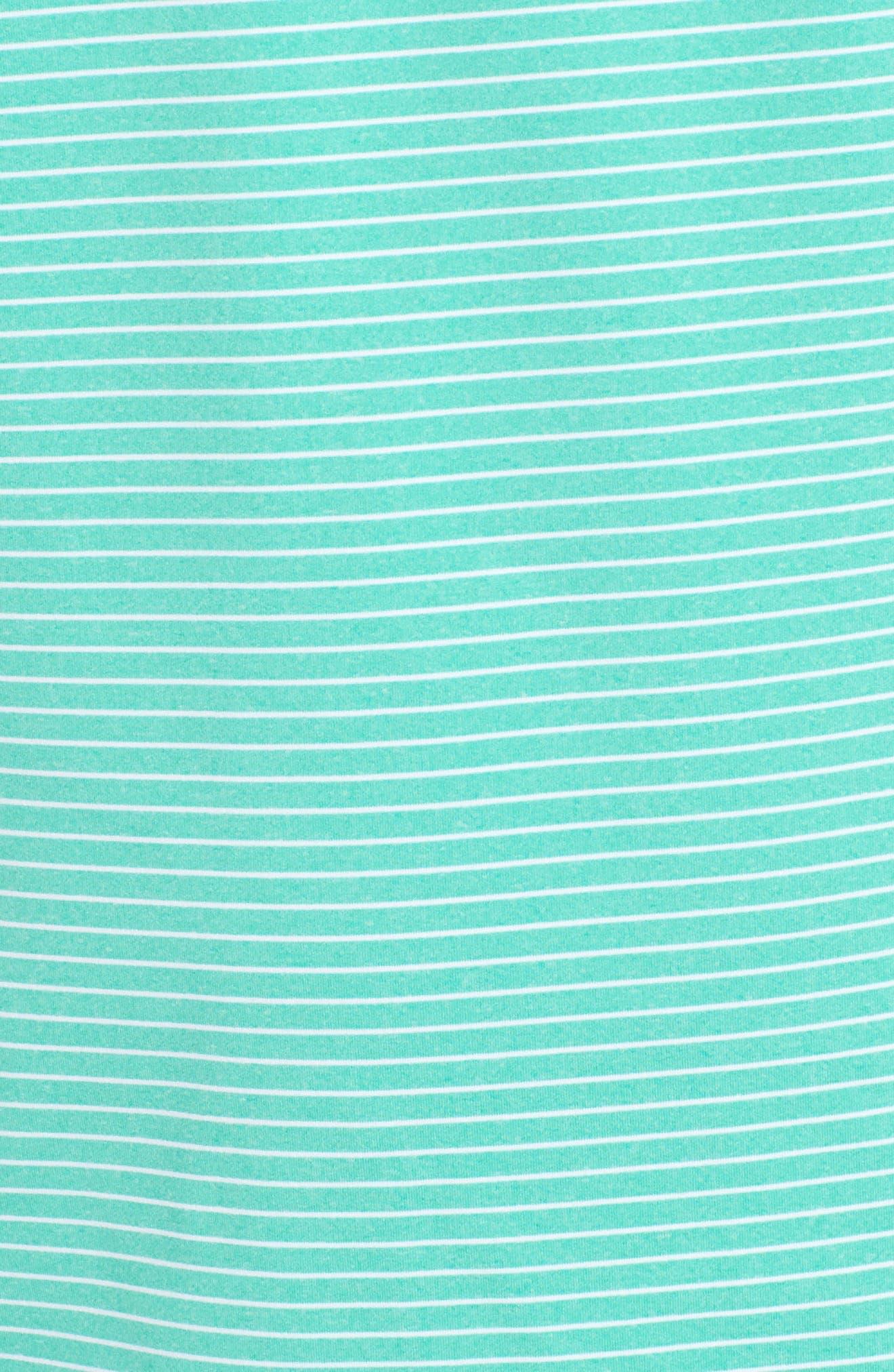 Heathered Wilson Stripe Polo,                             Alternate thumbnail 21, color,