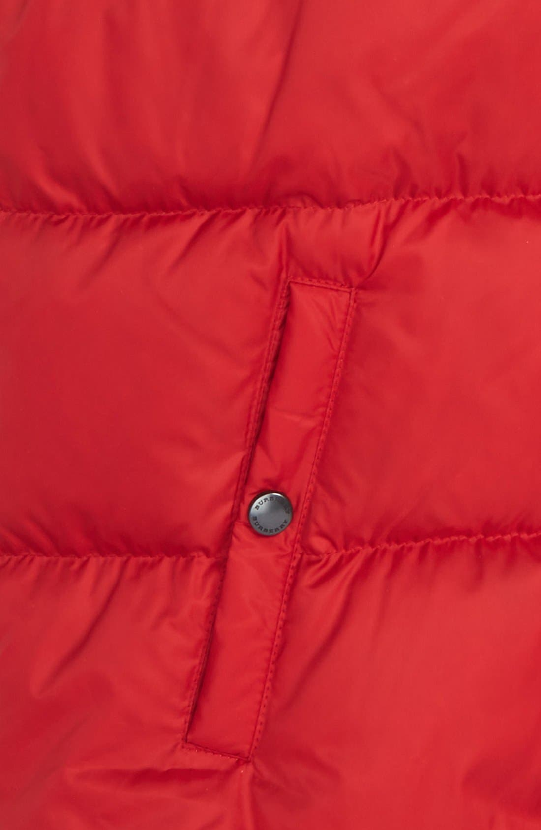 'Carlton' Quilted Down Vest,                             Alternate thumbnail 6, color,