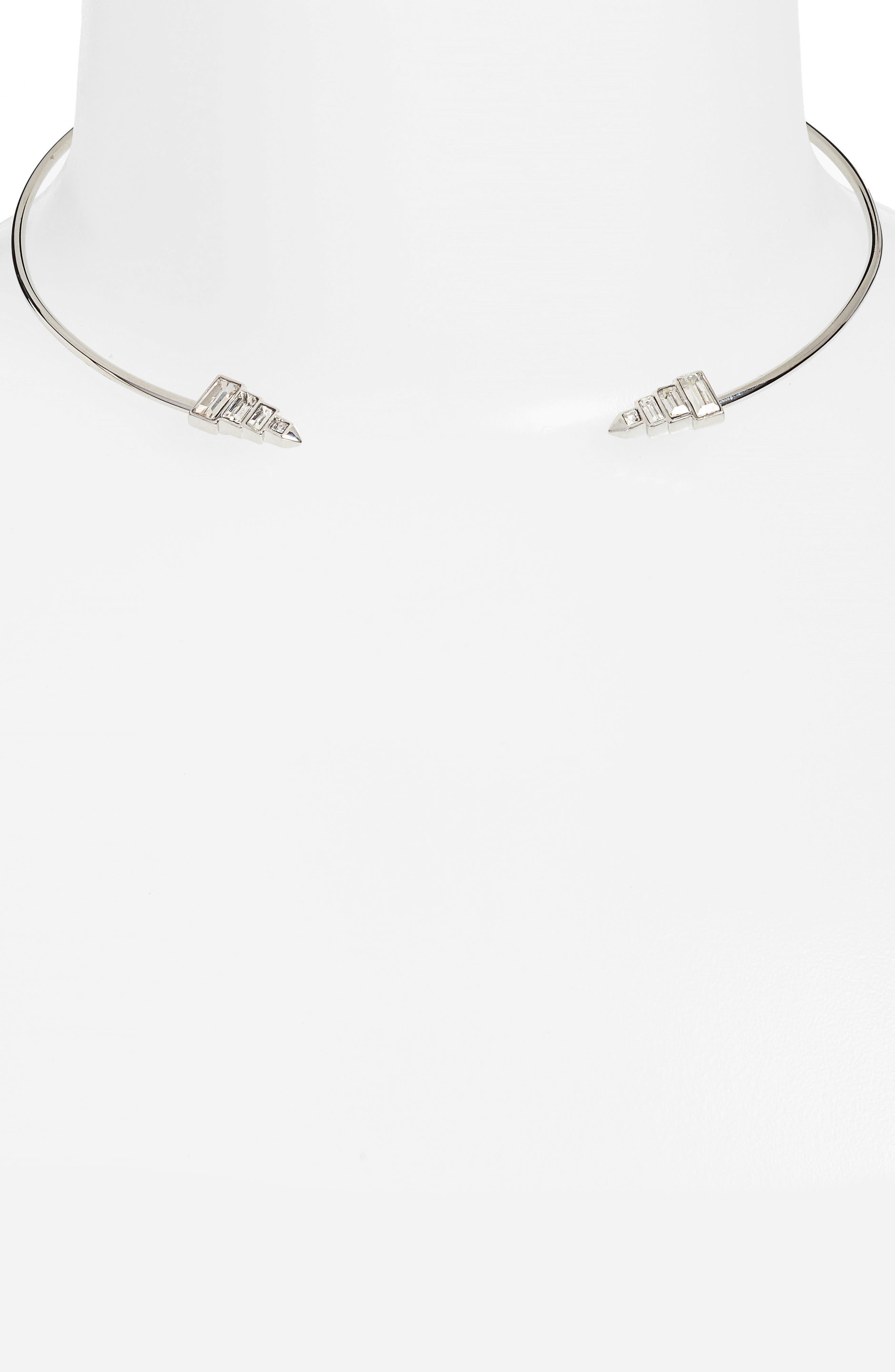 Open Collar Necklace,                             Alternate thumbnail 2, color,                             040