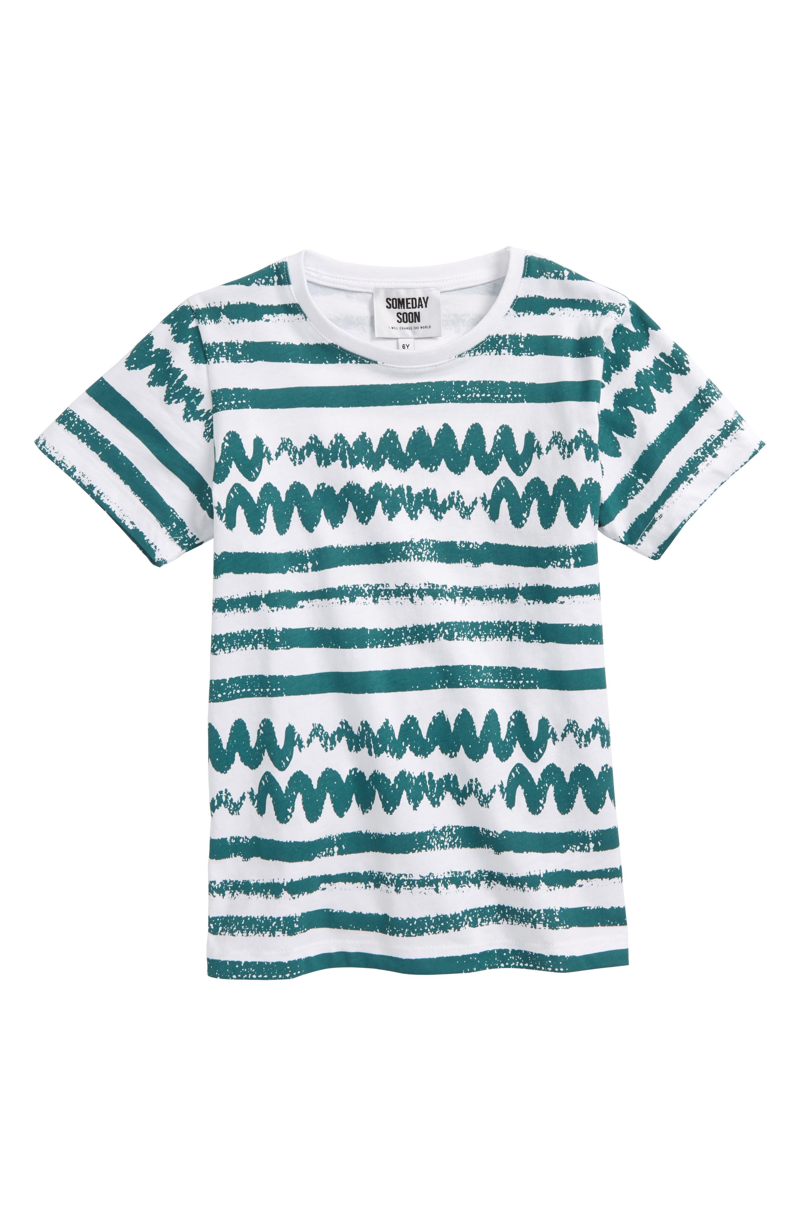 Juniper Print T-Shirt,                             Main thumbnail 1, color,                             100