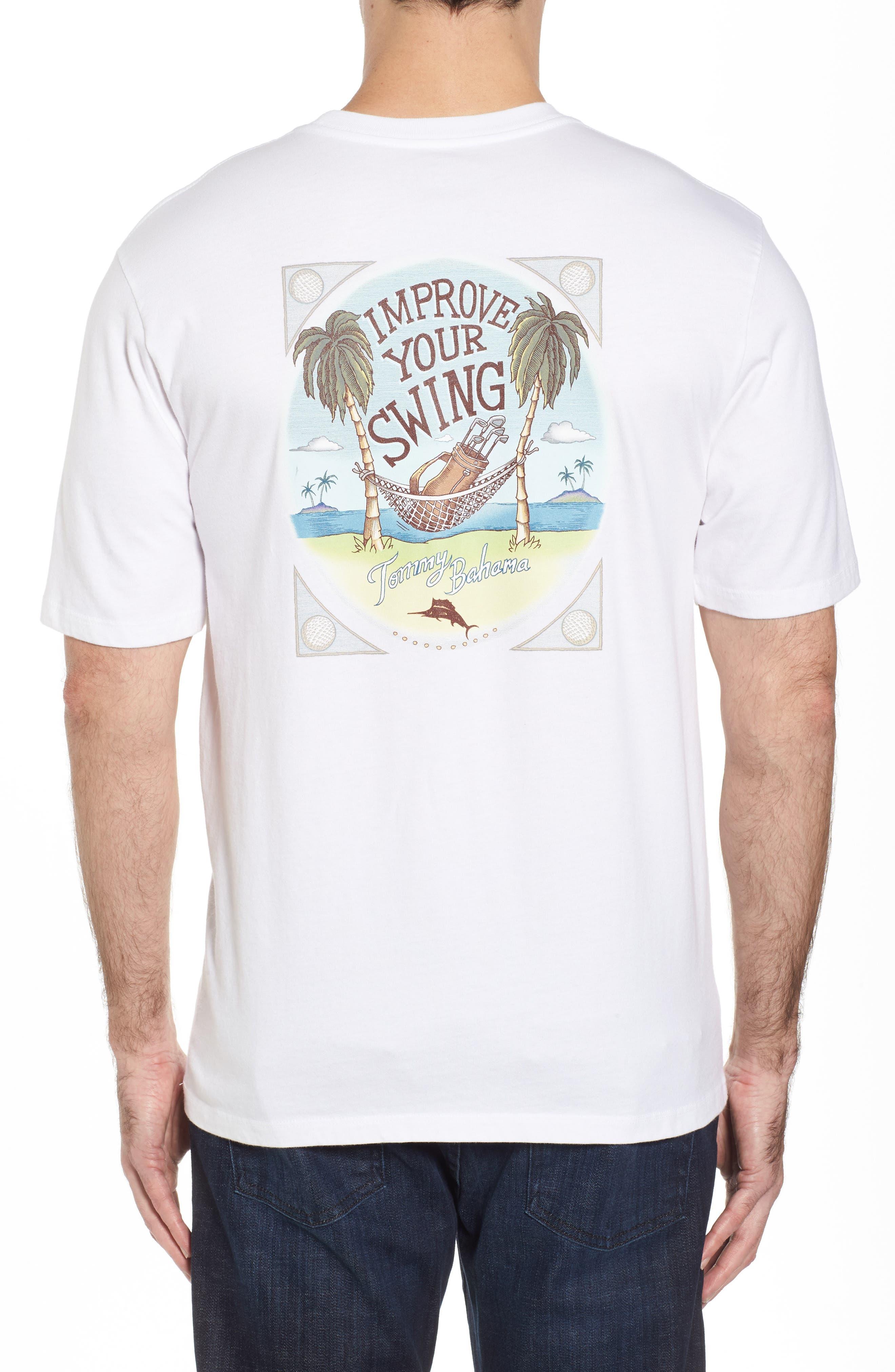 Improve Your Swing T-Shirt,                             Alternate thumbnail 2, color,                             100