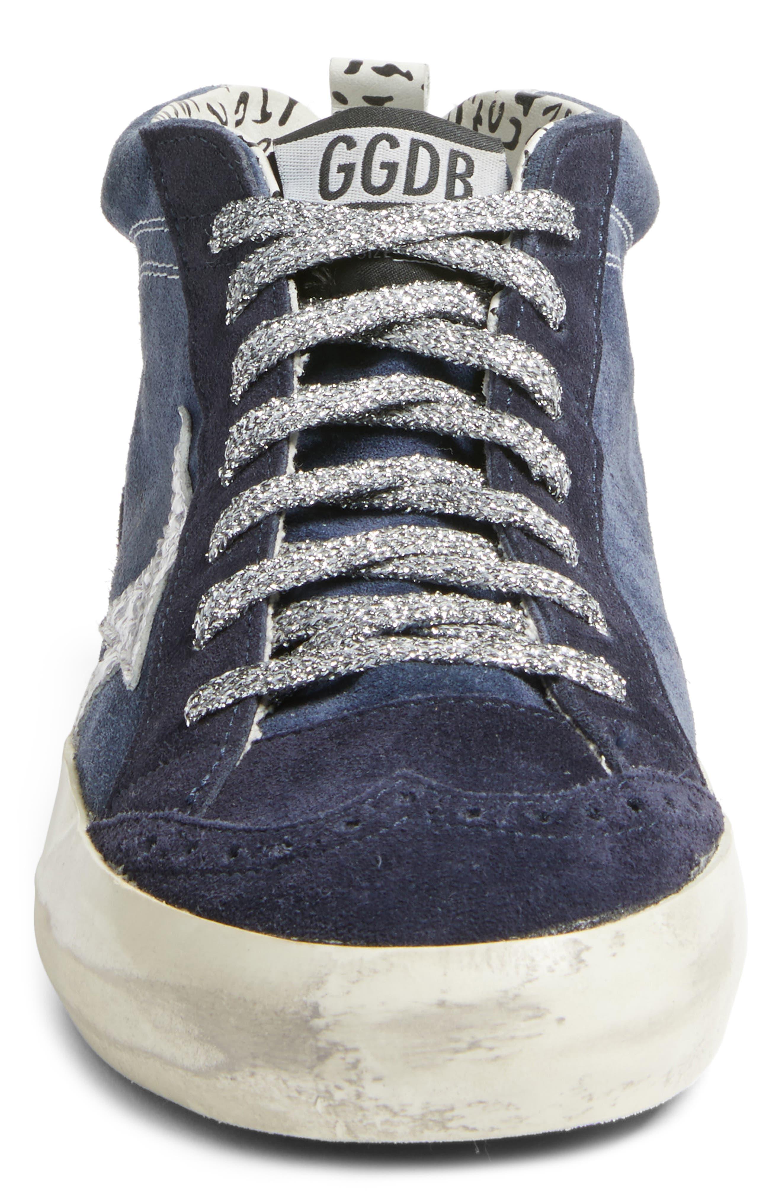 Star Mid Top Sneaker,                             Alternate thumbnail 4, color,                             401