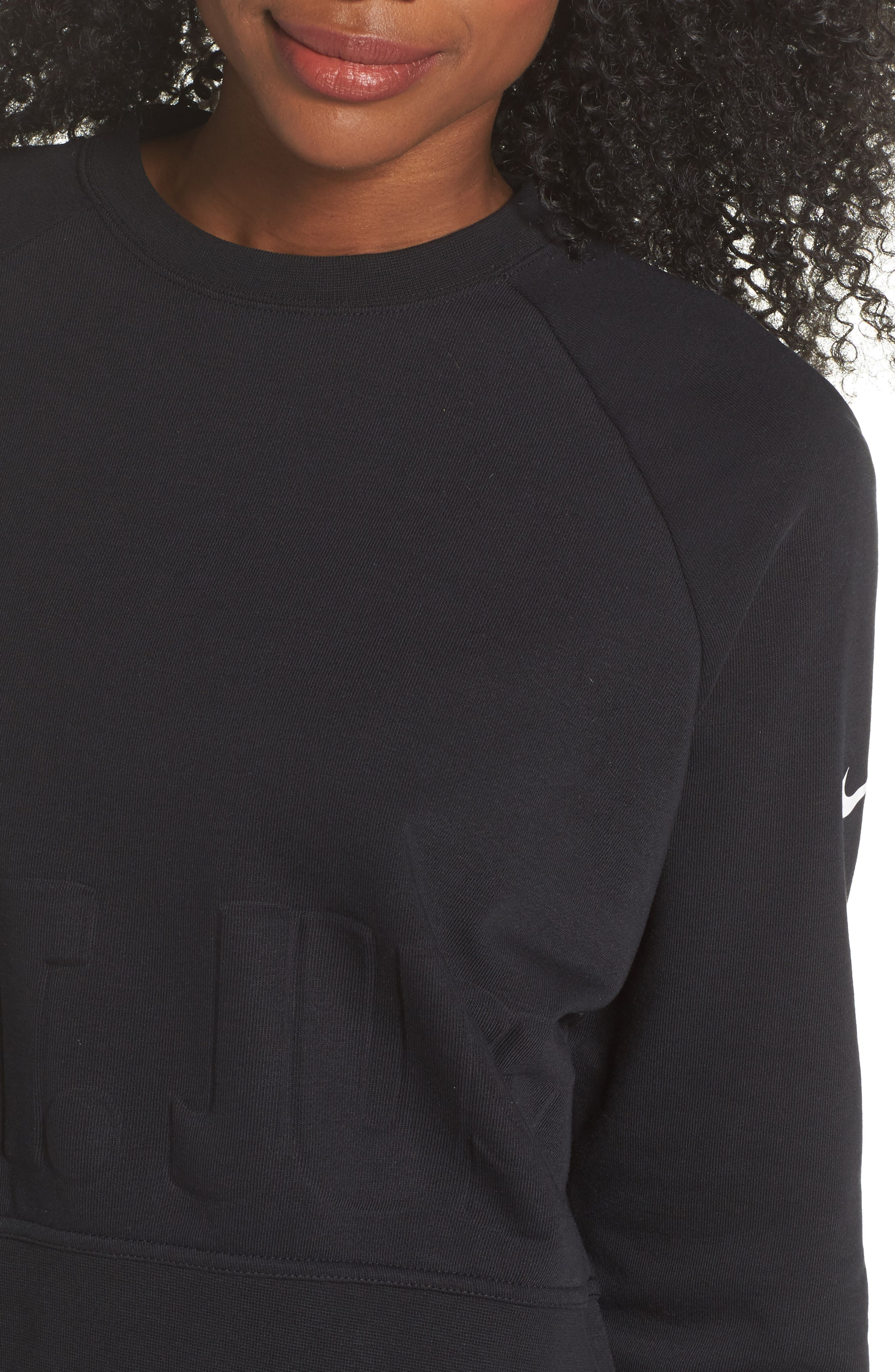 Long Sleeve Crop Training Top,                             Alternate thumbnail 14, color,