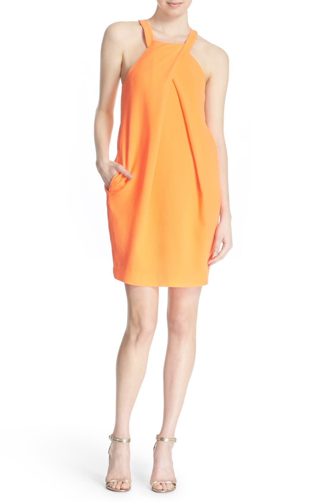 'Felisha' Racerback Shift Dress,                             Main thumbnail 1, color,                             909