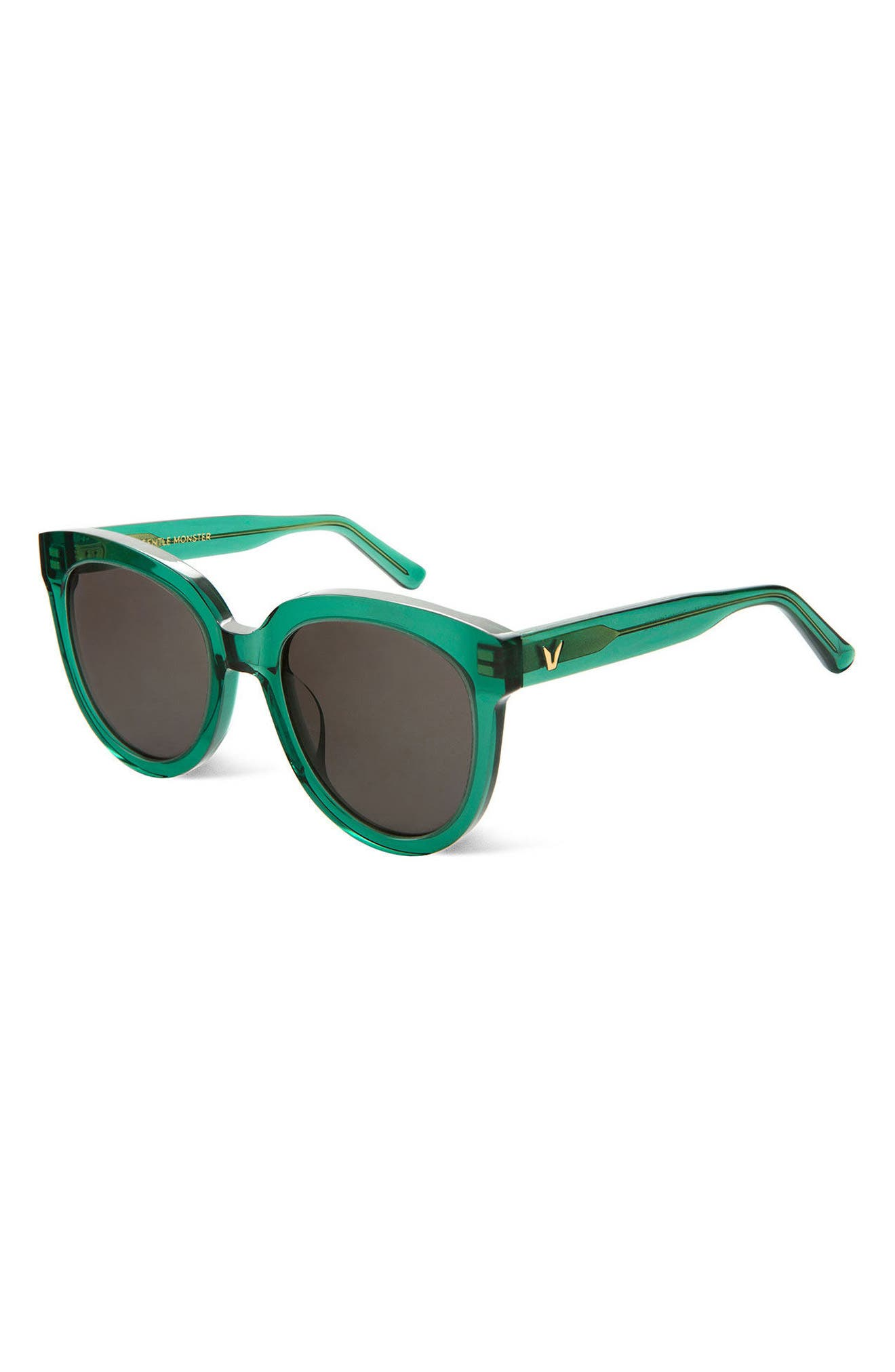 Illusion 53mm Sunglasses,                             Alternate thumbnail 3, color,                             300