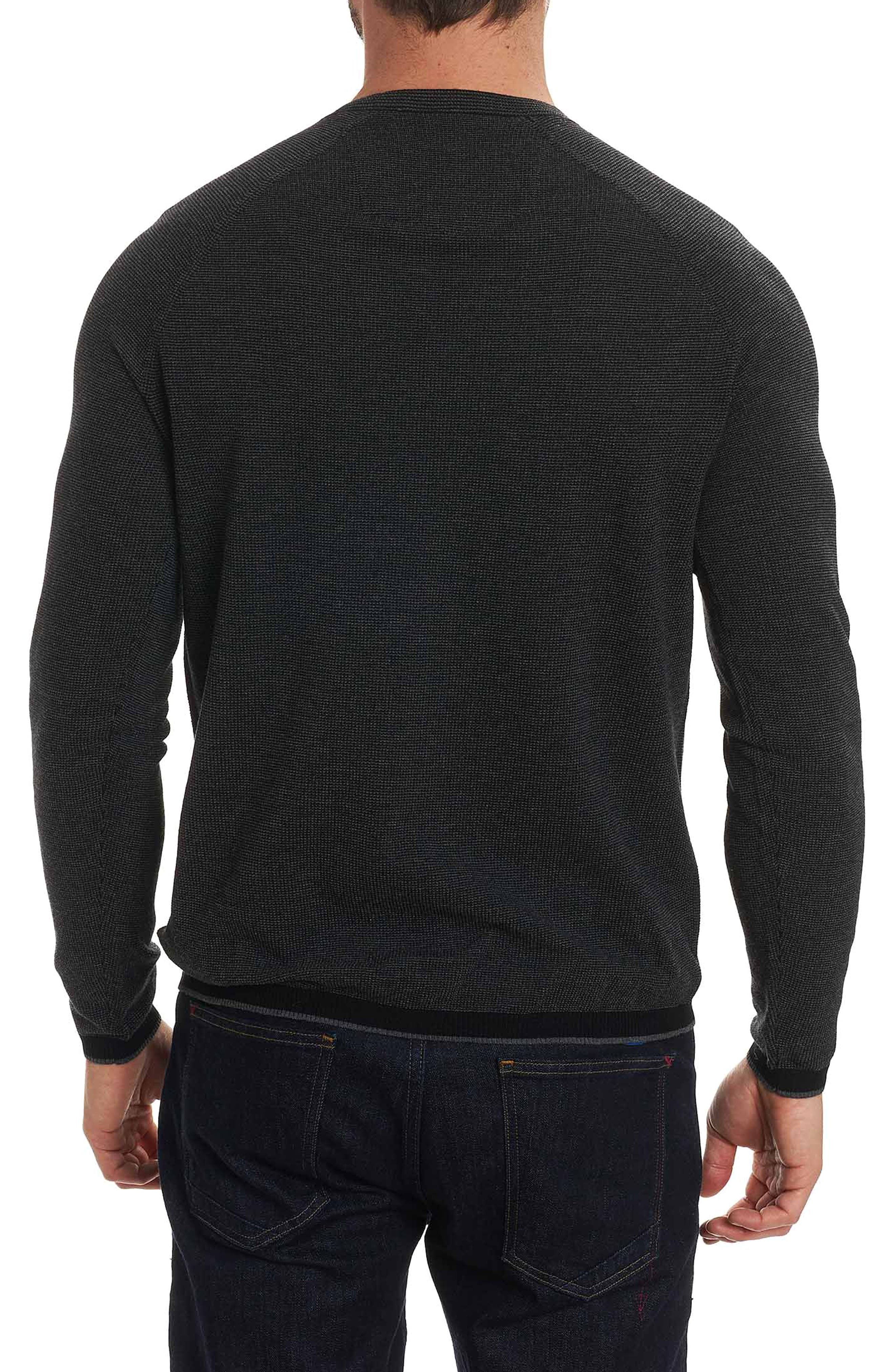 Ray Brook Wool Blend Sweater,                             Alternate thumbnail 2, color,                             001