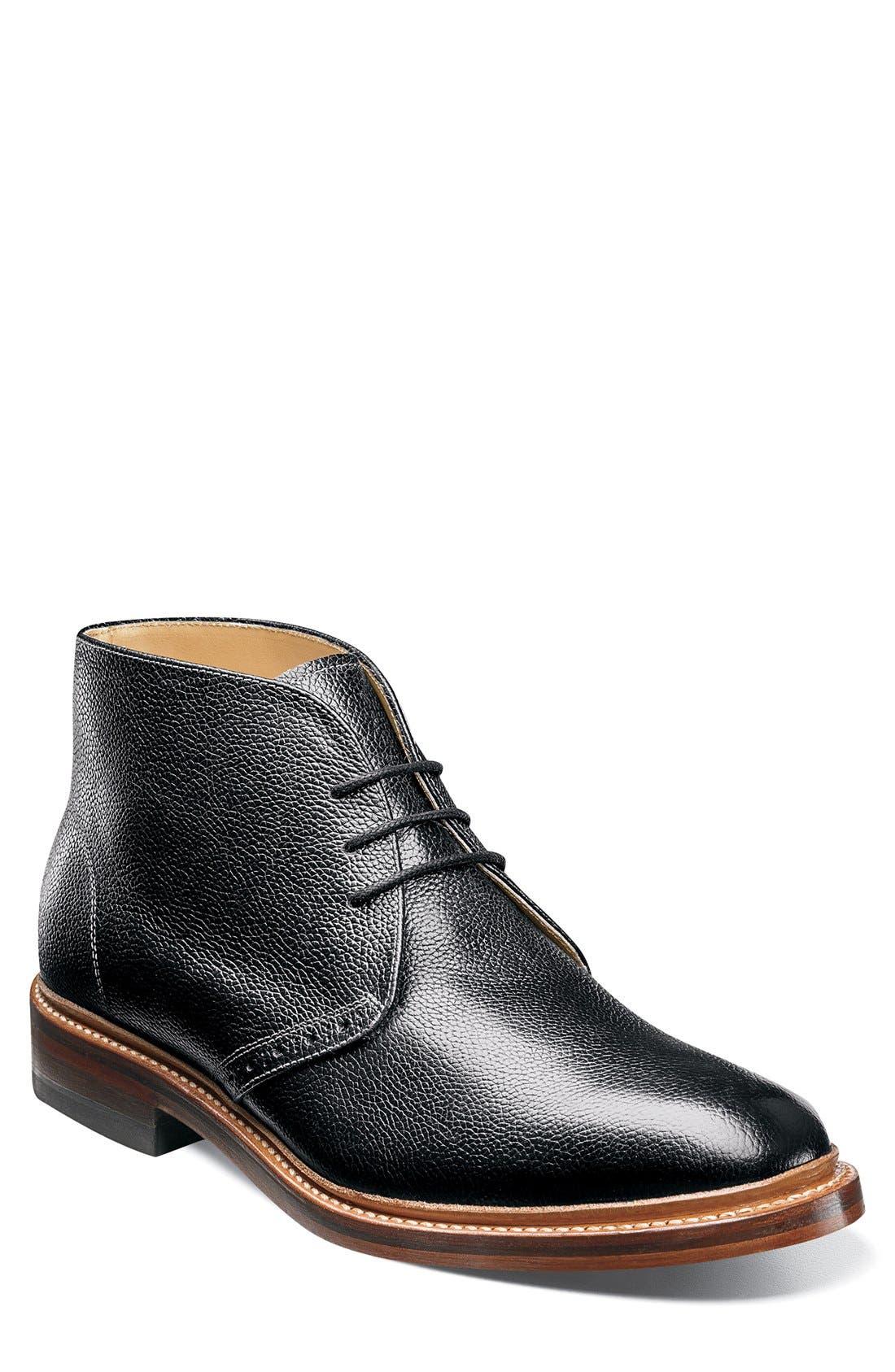 'Madison II' Chukka Boot,                             Main thumbnail 1, color,                             001