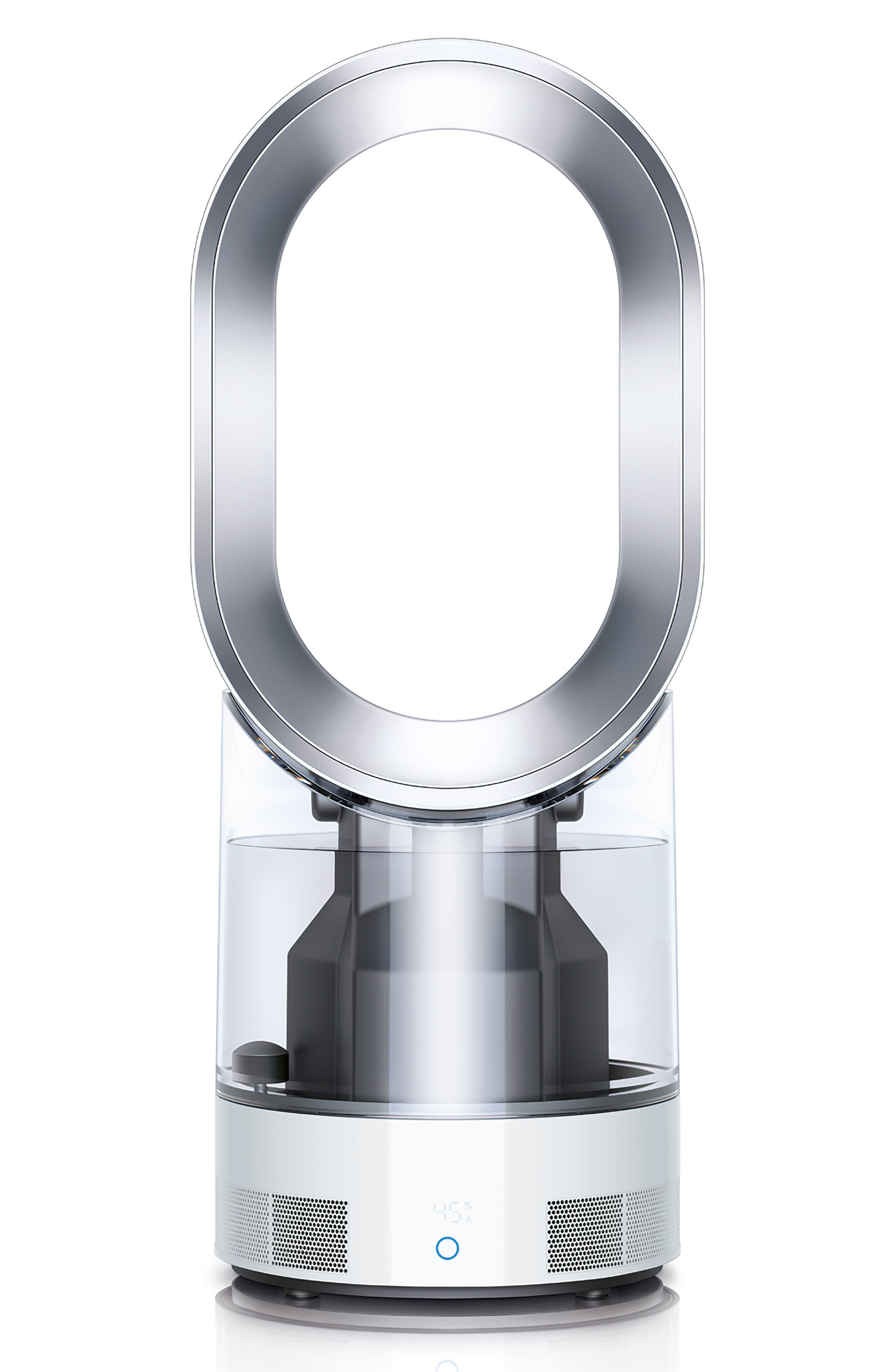 AM10 Hygienic Humidifier & Bladeless Fan,                         Main,                         color,