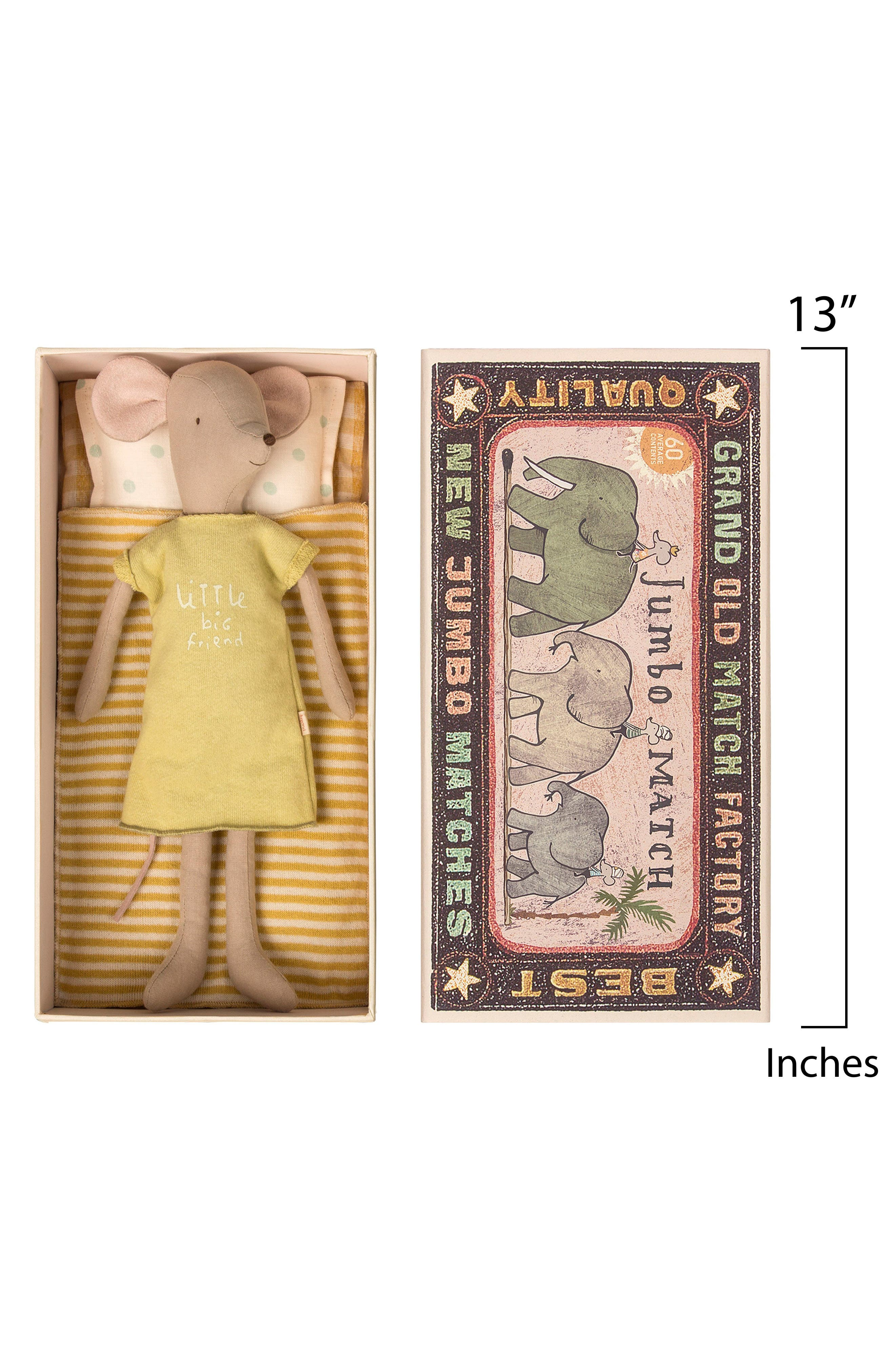 Girl Mouse in a Box Stuffed Animal,                             Alternate thumbnail 2, color,                             MULTI COLOR