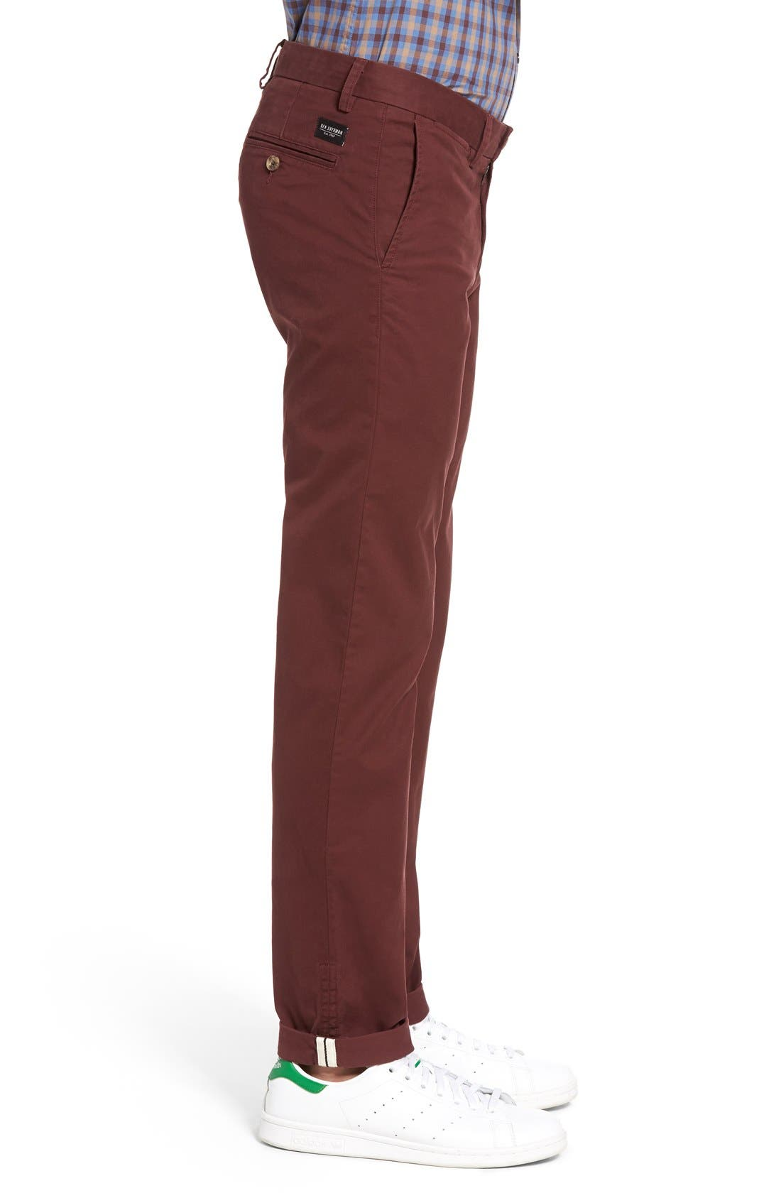 Slim Fit Stretch Chinos,                             Alternate thumbnail 73, color,