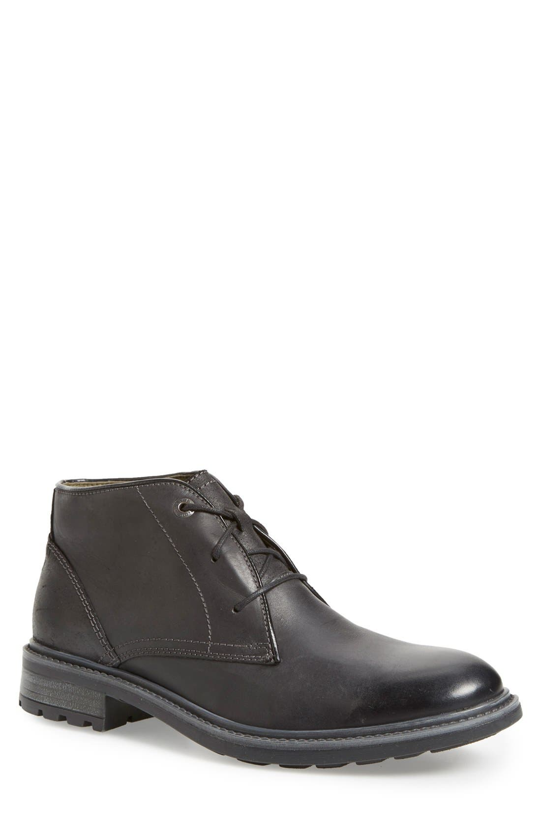 'Oscar 11' Chukka Boot,                         Main,                         color, BLACK