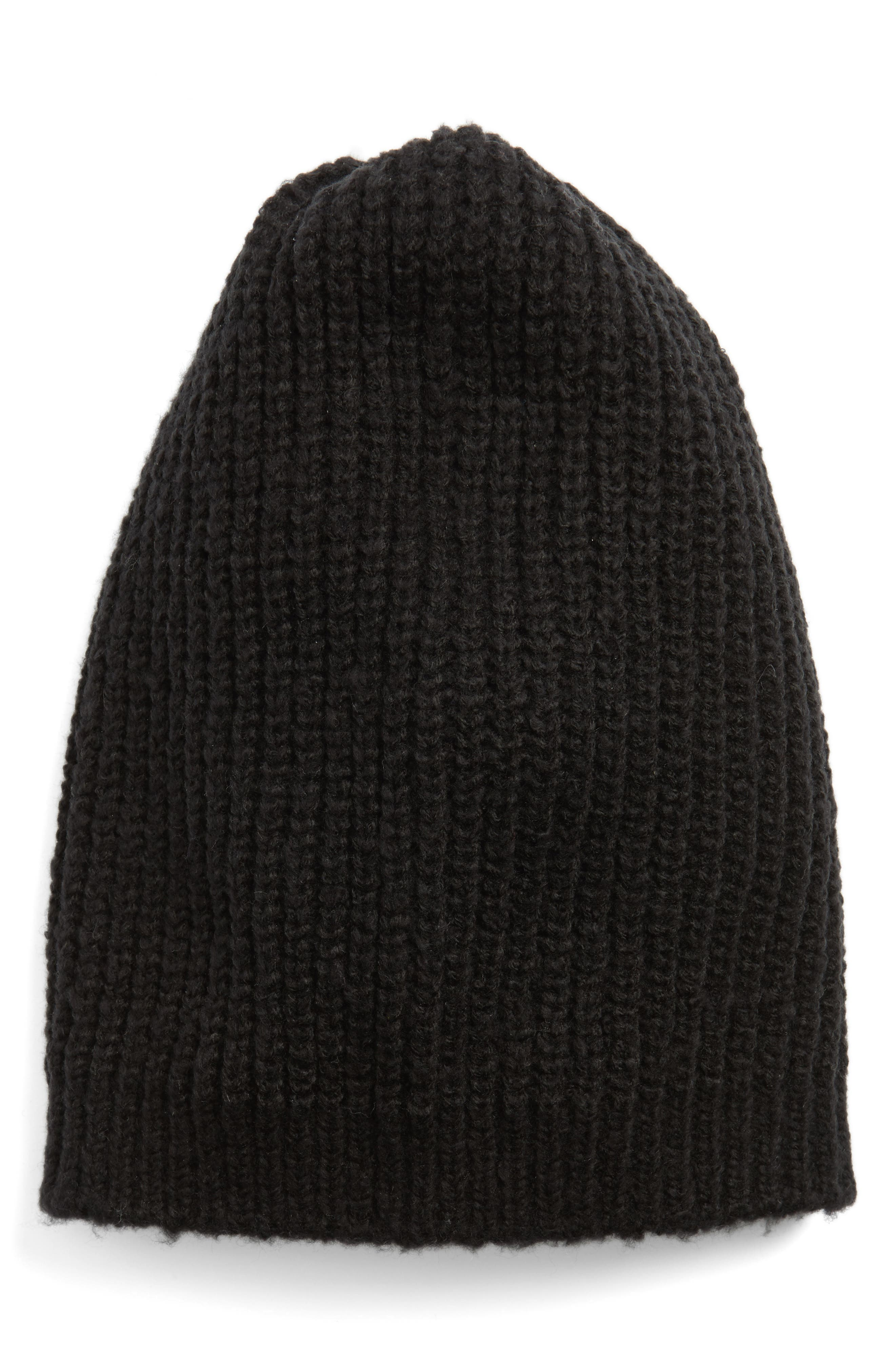 Ribbed Beanie,                         Main,                         color, 001