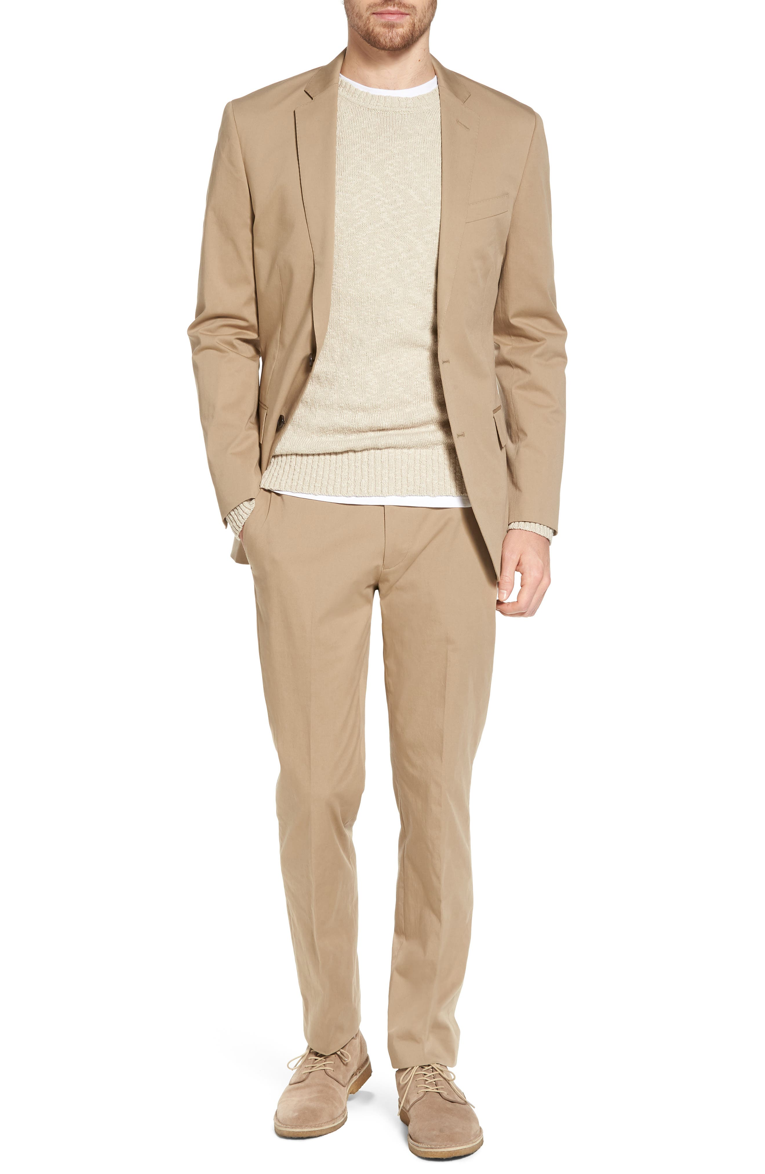 Ludlow Stretch Chino Blazer,                             Alternate thumbnail 7, color,                             251