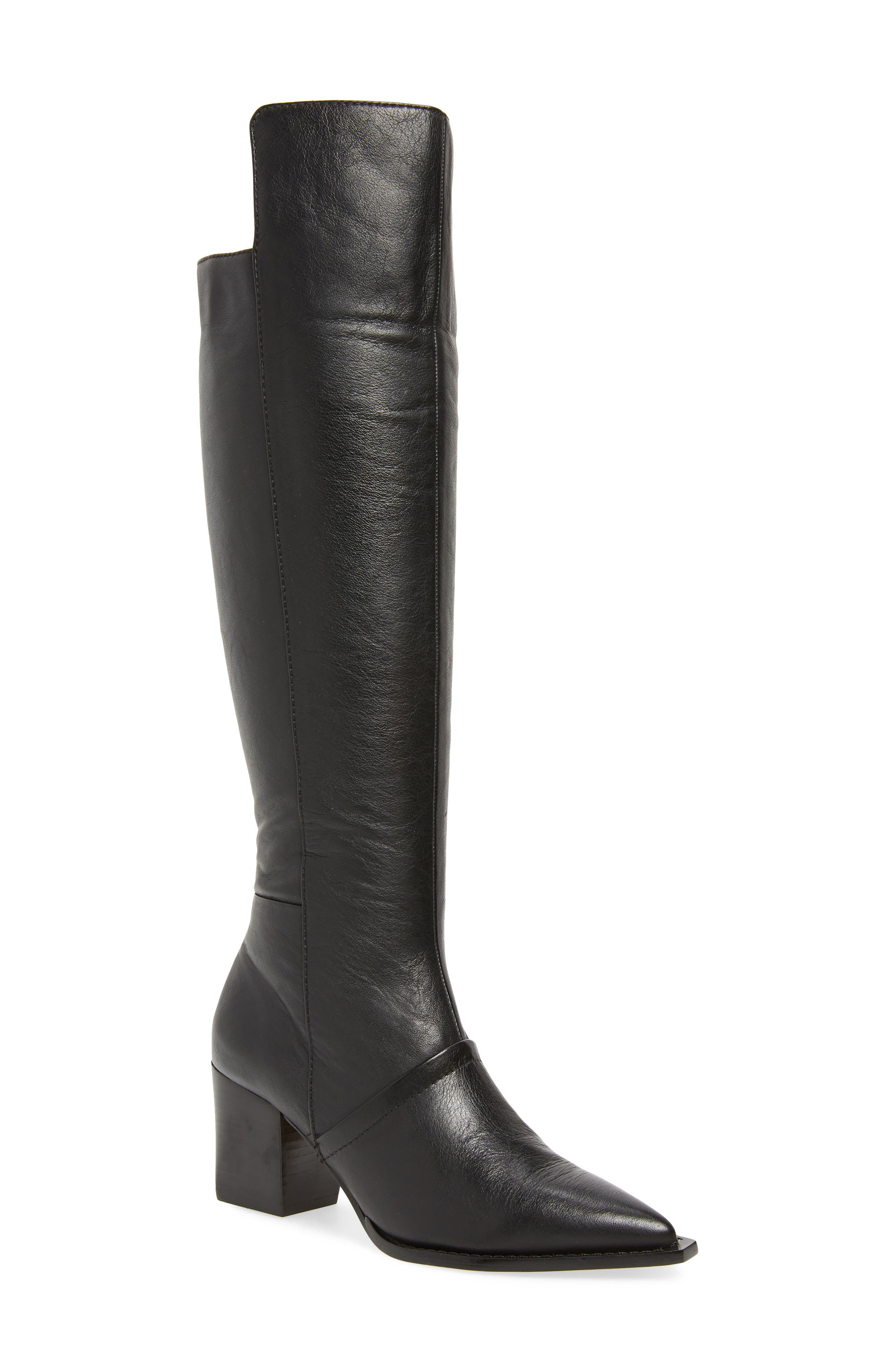 Lust For Life Tania Knee High Boot- Black