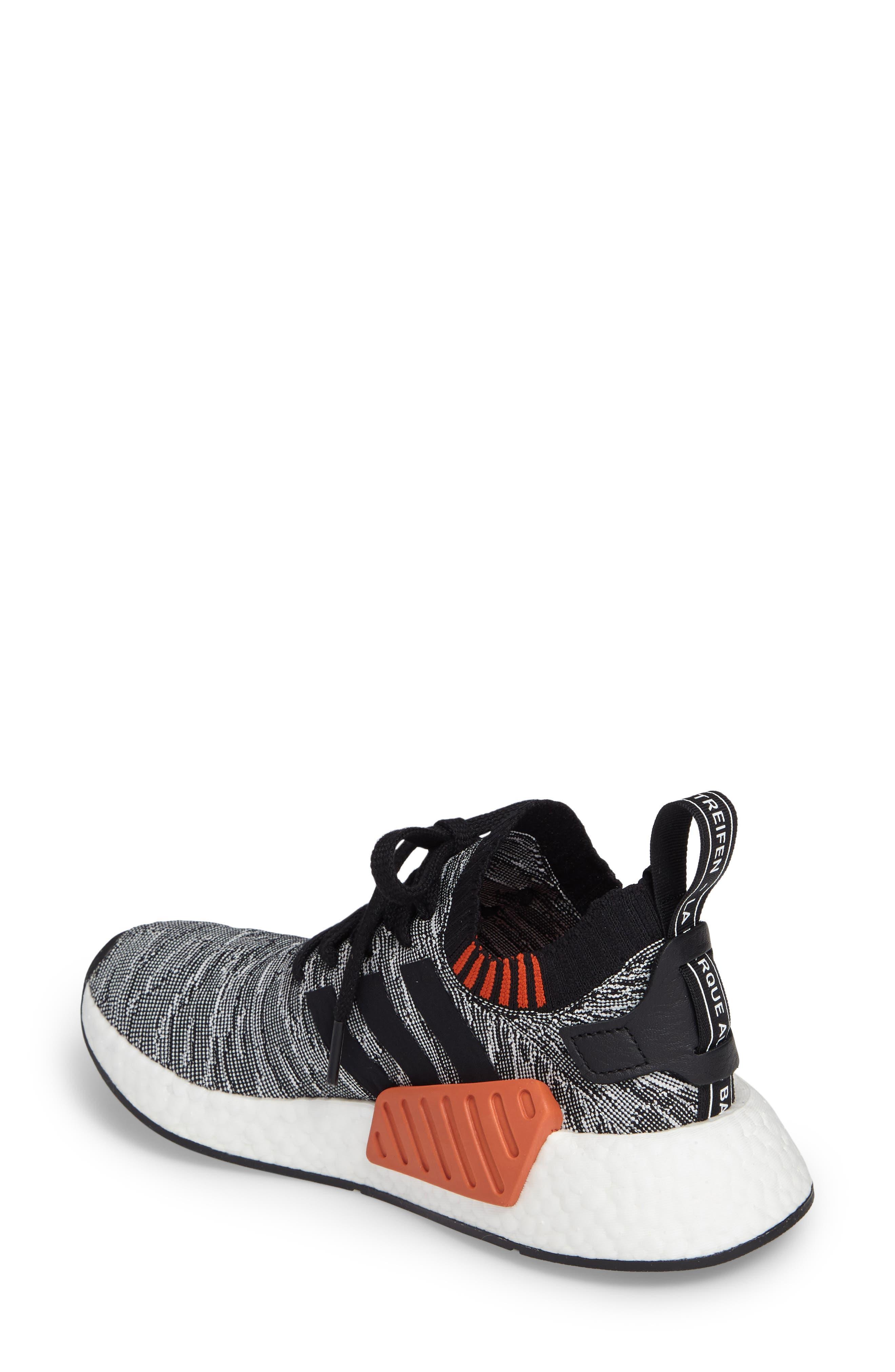 NMD R2 Primeknit Athletic Shoe,                             Alternate thumbnail 7, color,
