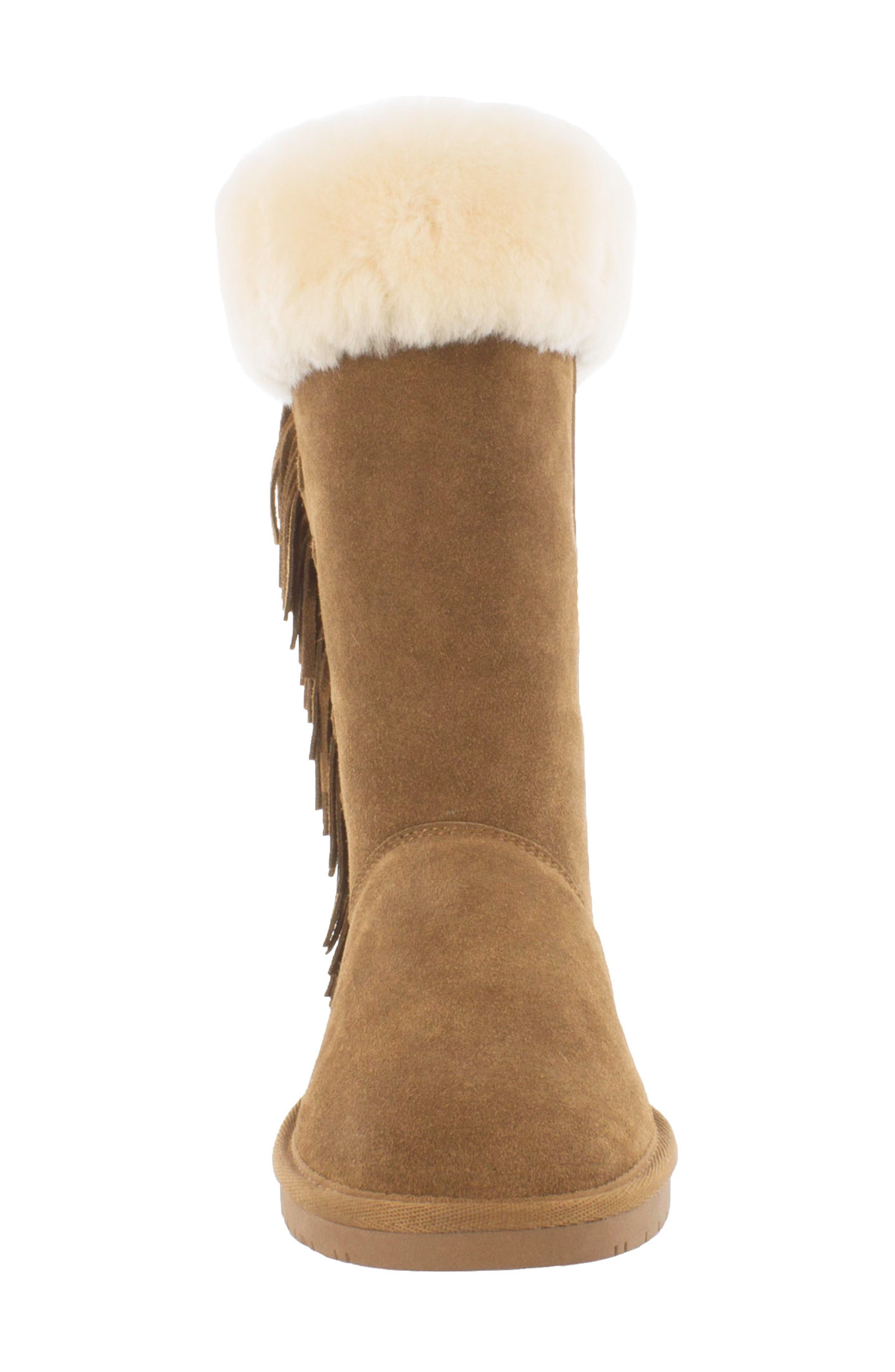 Canyon Genuine Shearling Trim Boot,                             Alternate thumbnail 6, color,