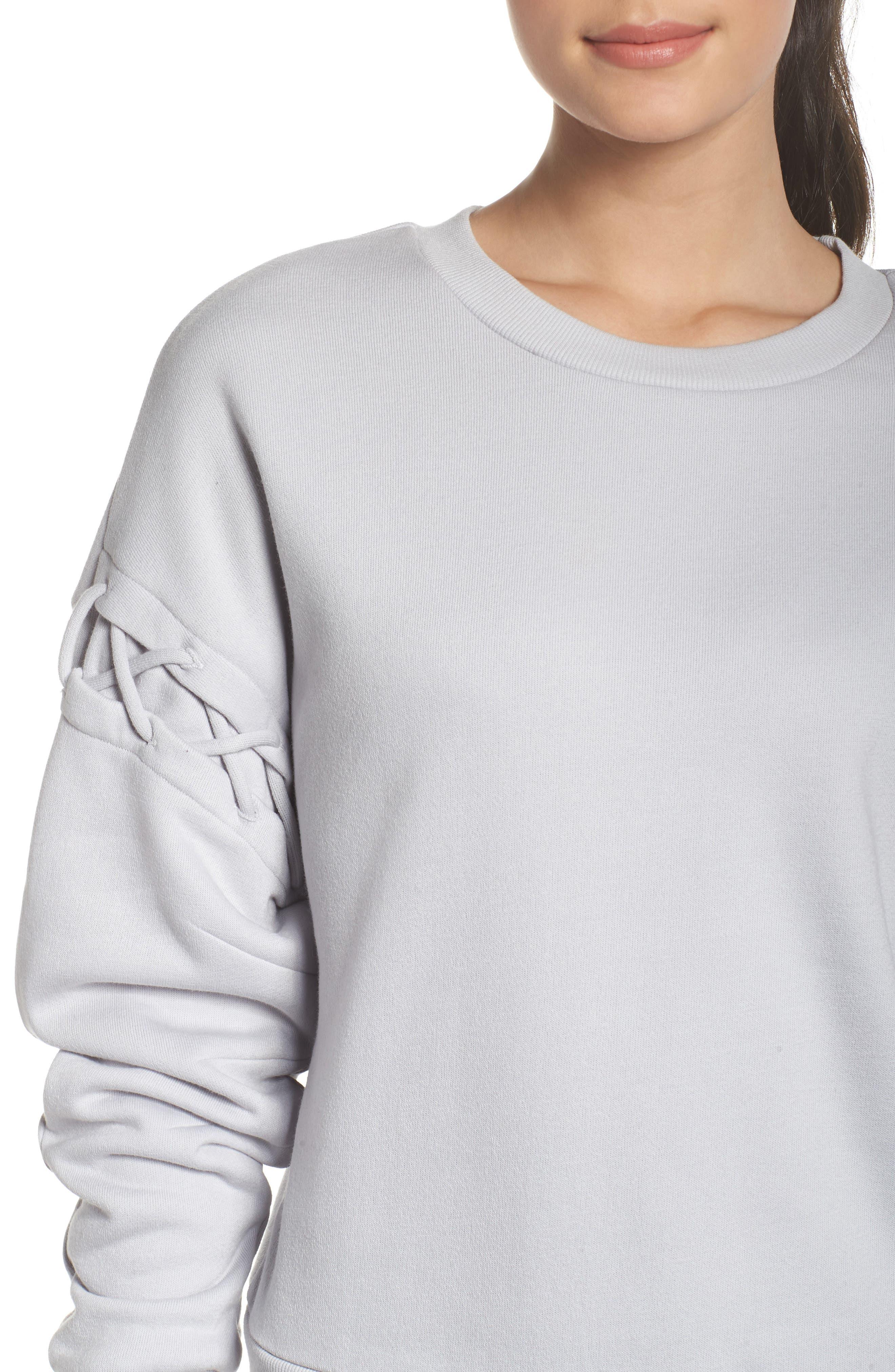 Lattice Long Sleeve Pullover,                             Alternate thumbnail 12, color,