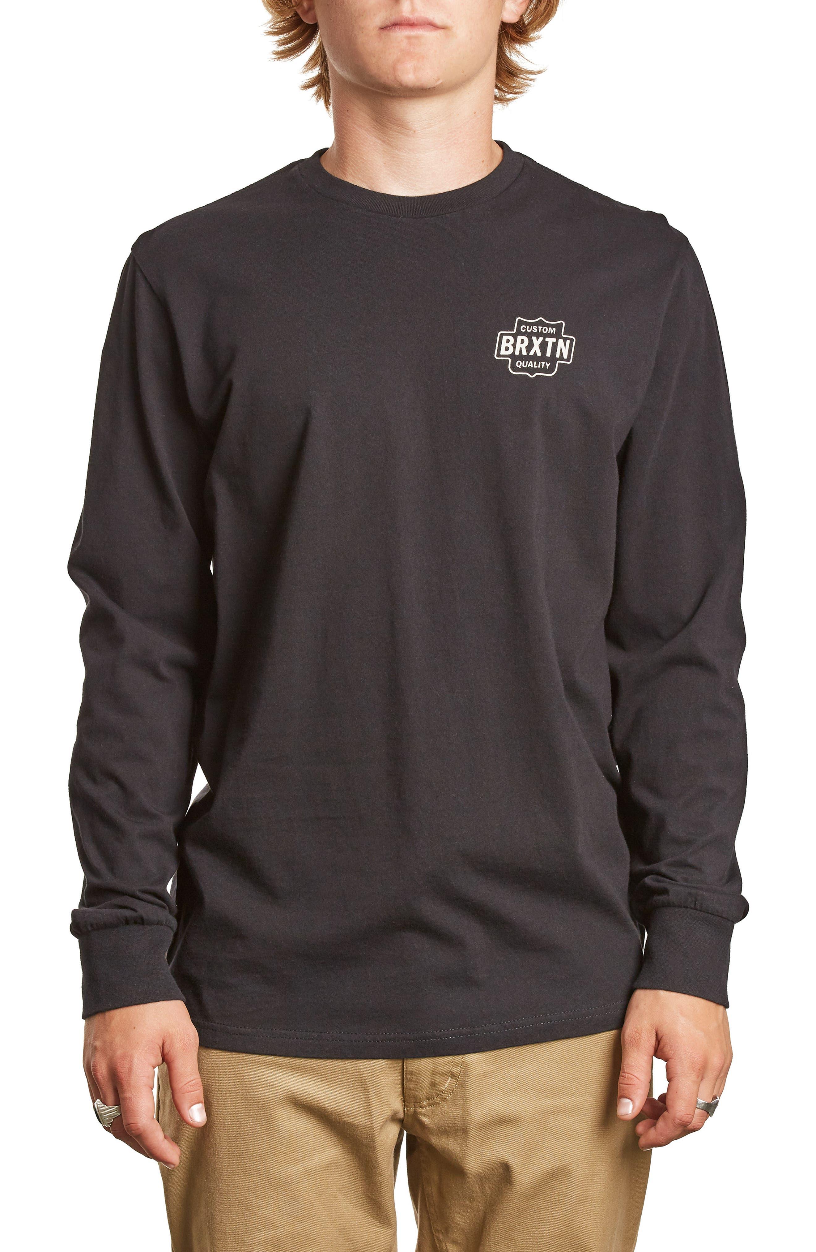 Garth Premium T-Shirt,                         Main,                         color, 001