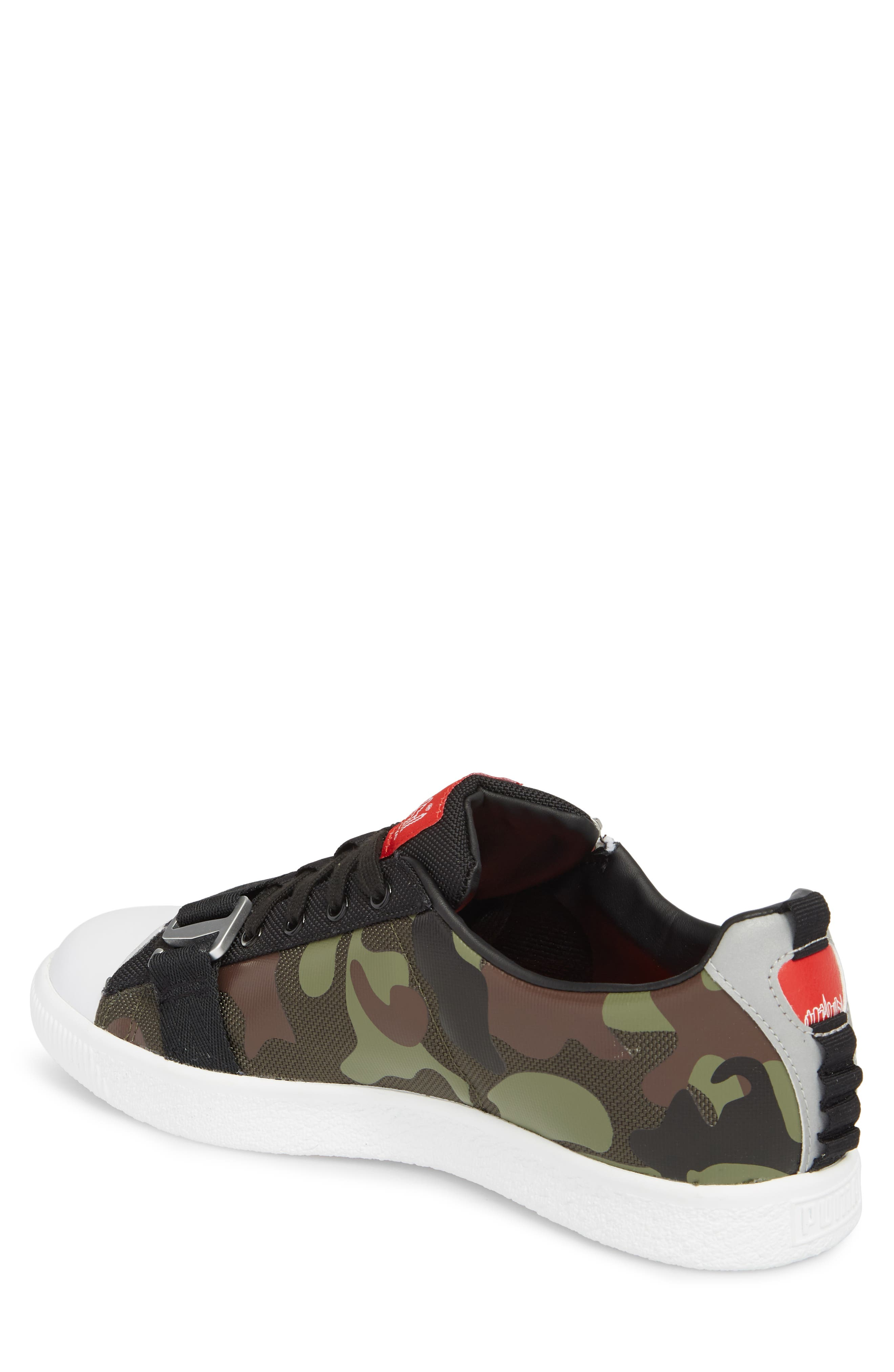 x MANHATTAN PORTAGE Clyde Zip Sneaker,                             Alternate thumbnail 2, color,                             300