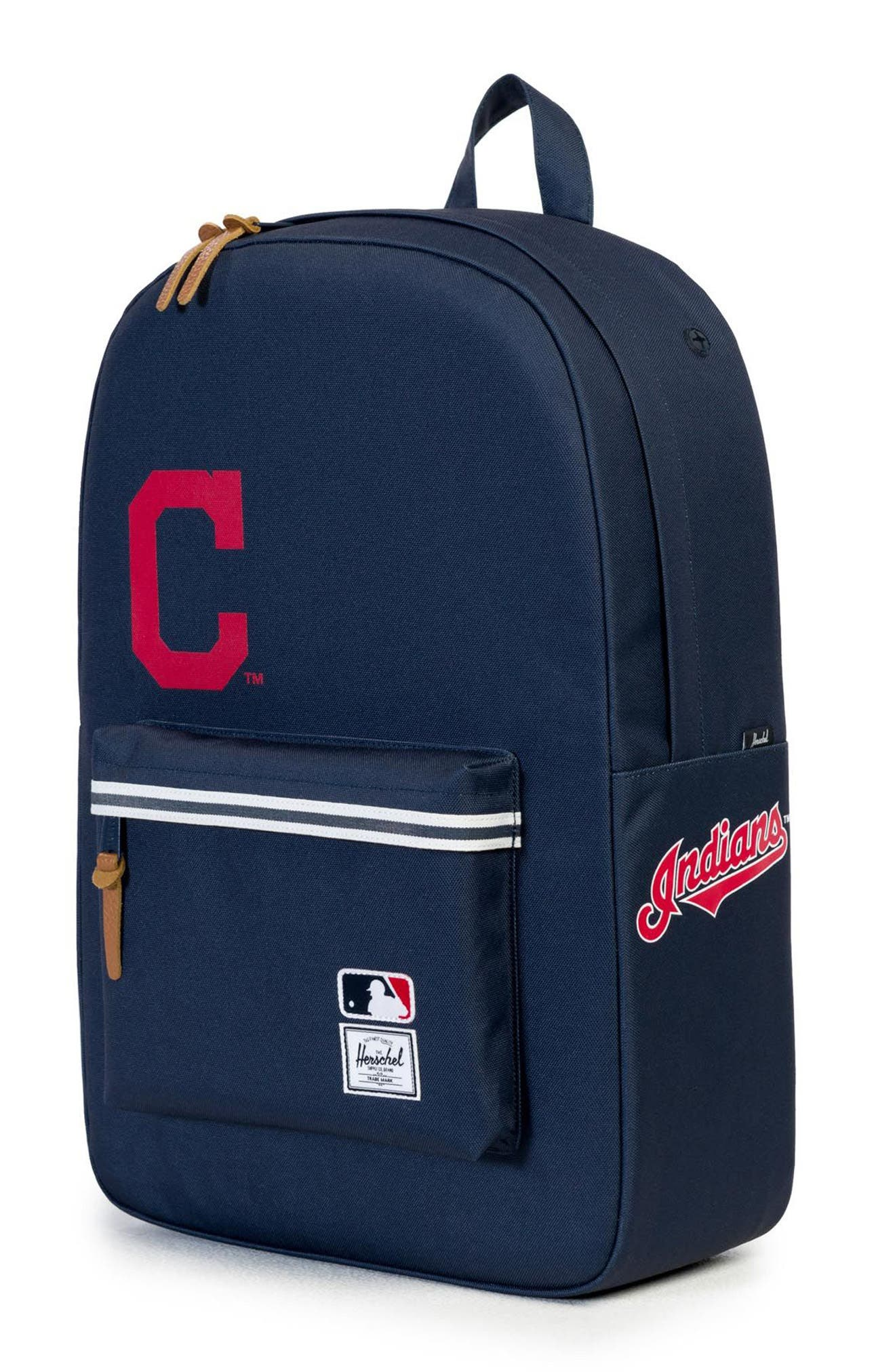 Heritage Cleveland Indians Backpack,                             Alternate thumbnail 4, color,                             469