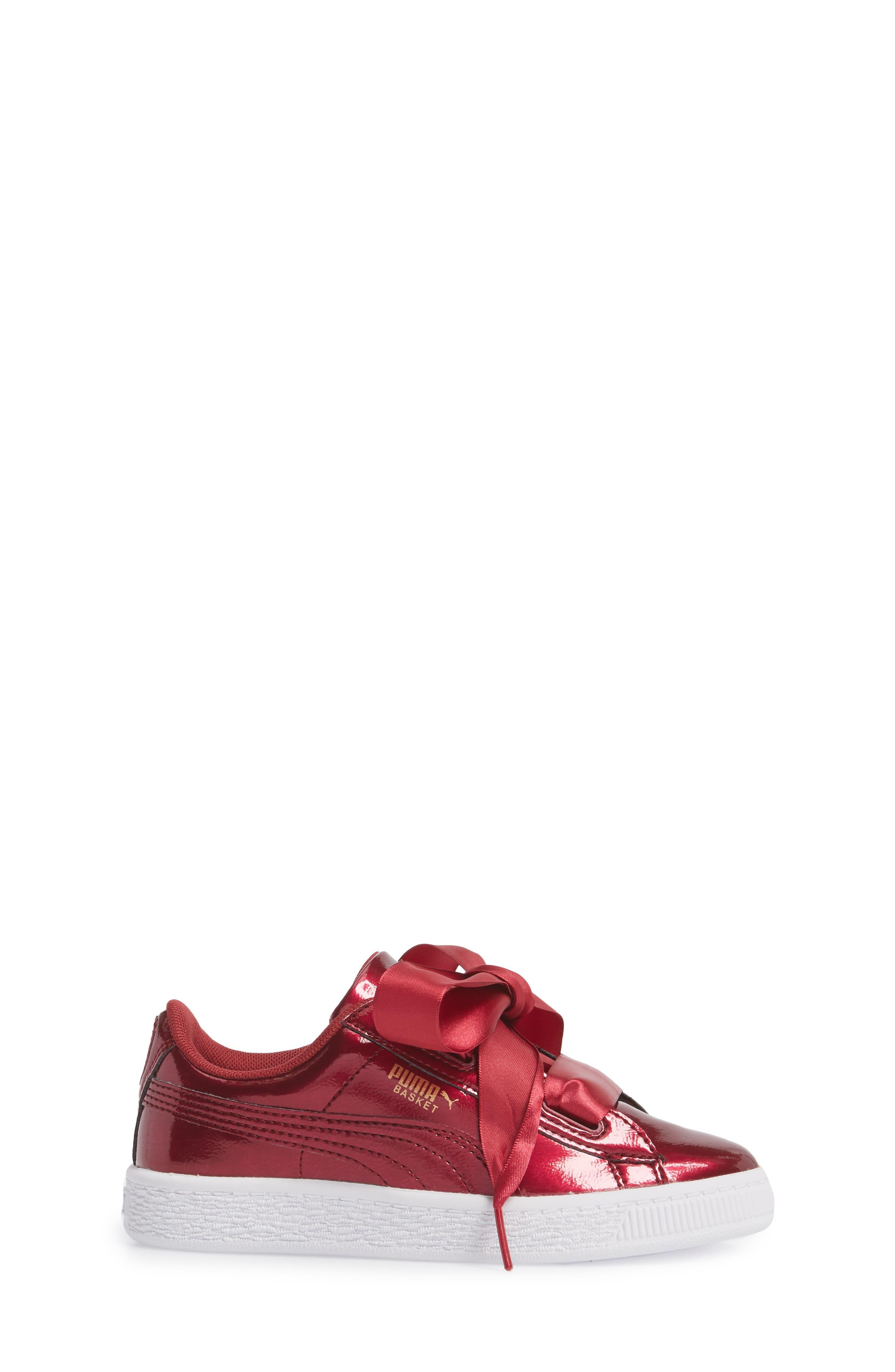 Basket Heart Glam Sneaker,                             Alternate thumbnail 6, color,