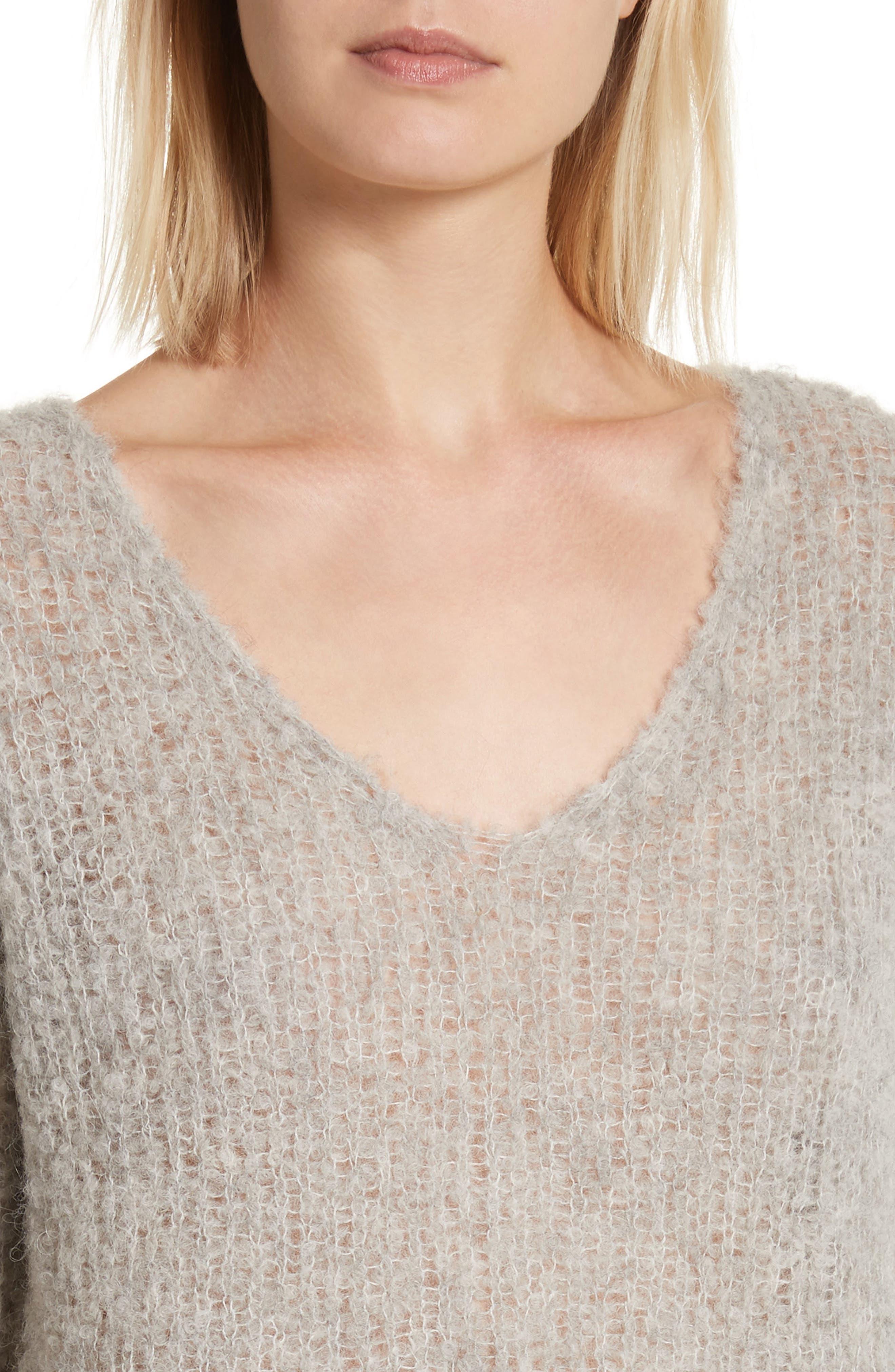 Freda Alpaca Blend Sweater,                             Alternate thumbnail 8, color,