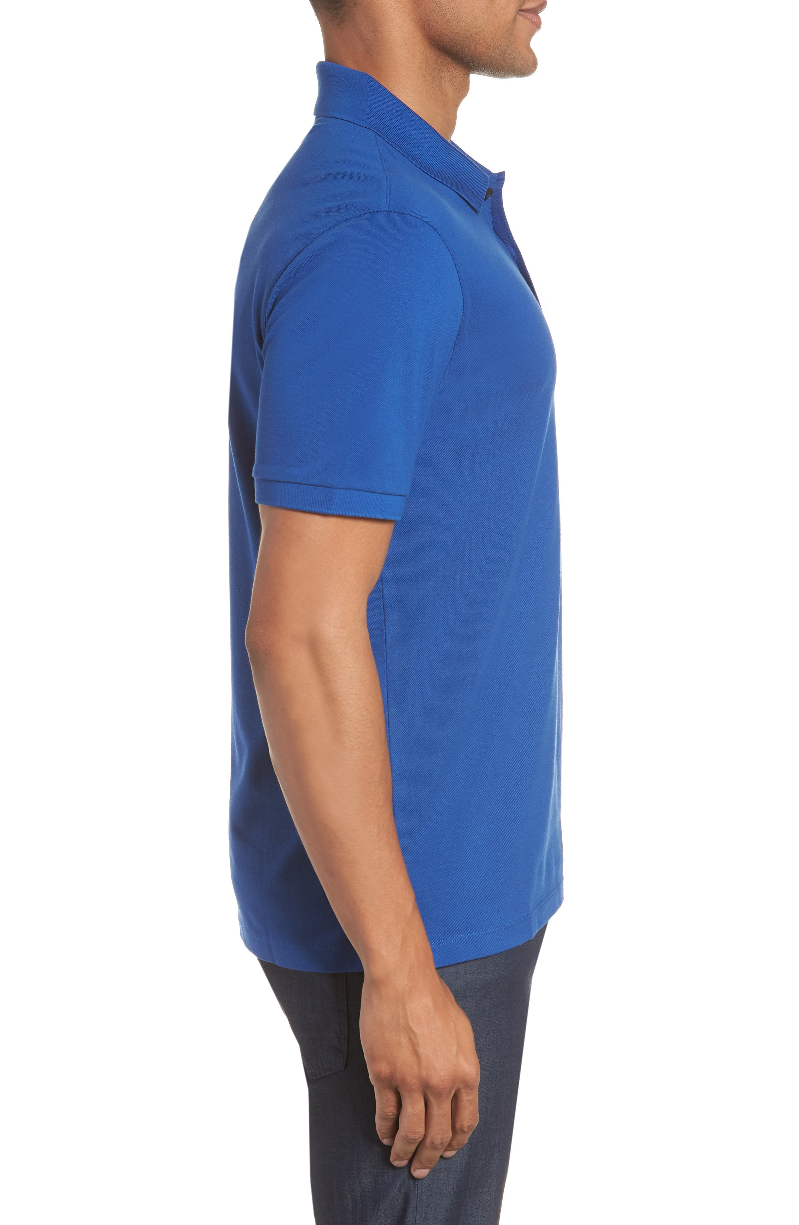 'Pallas' Regular Fit Logo Embroidered Polo Shirt,                             Alternate thumbnail 36, color,