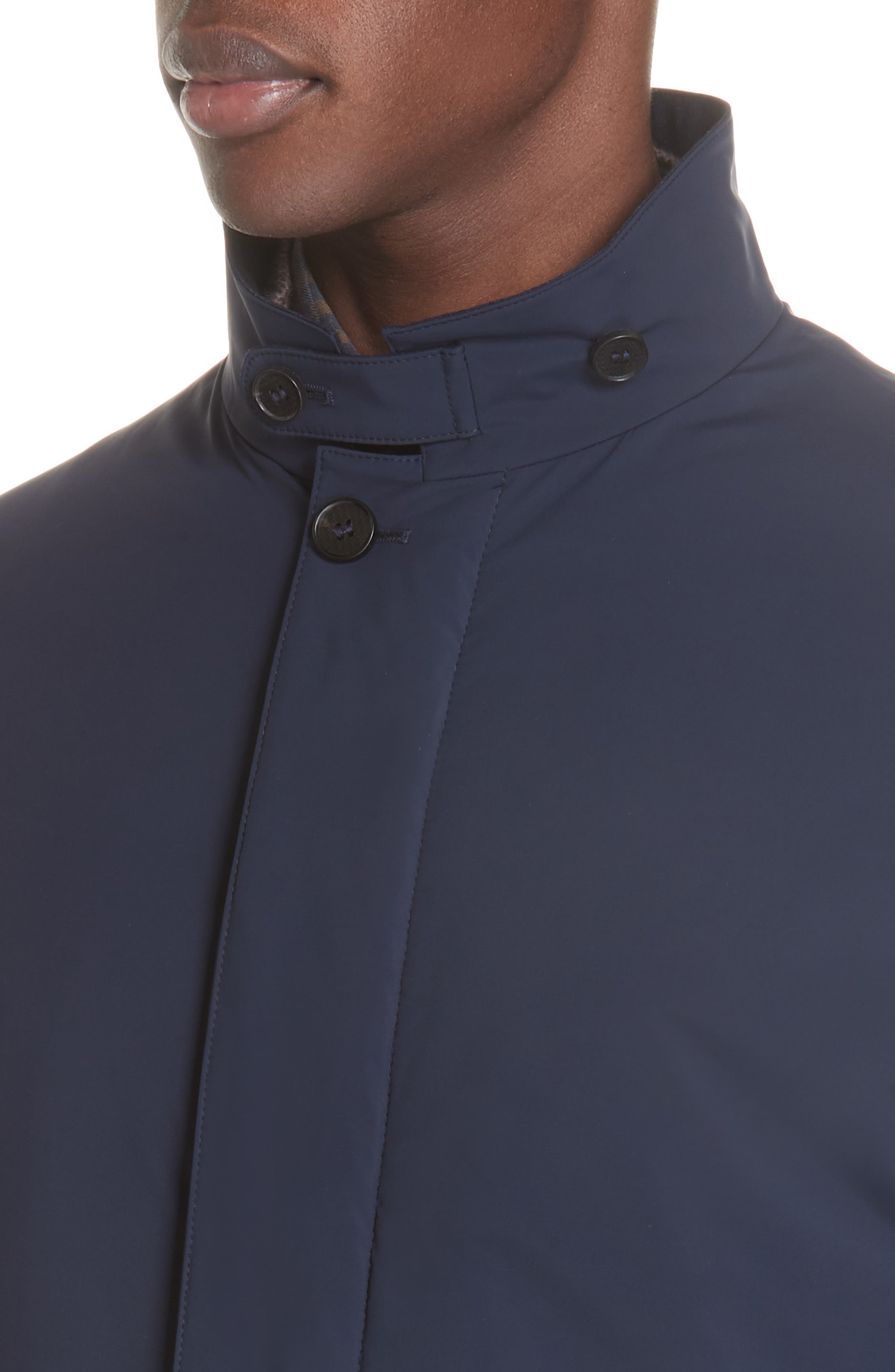 Stretch Car Coat,                             Alternate thumbnail 4, color,                             400