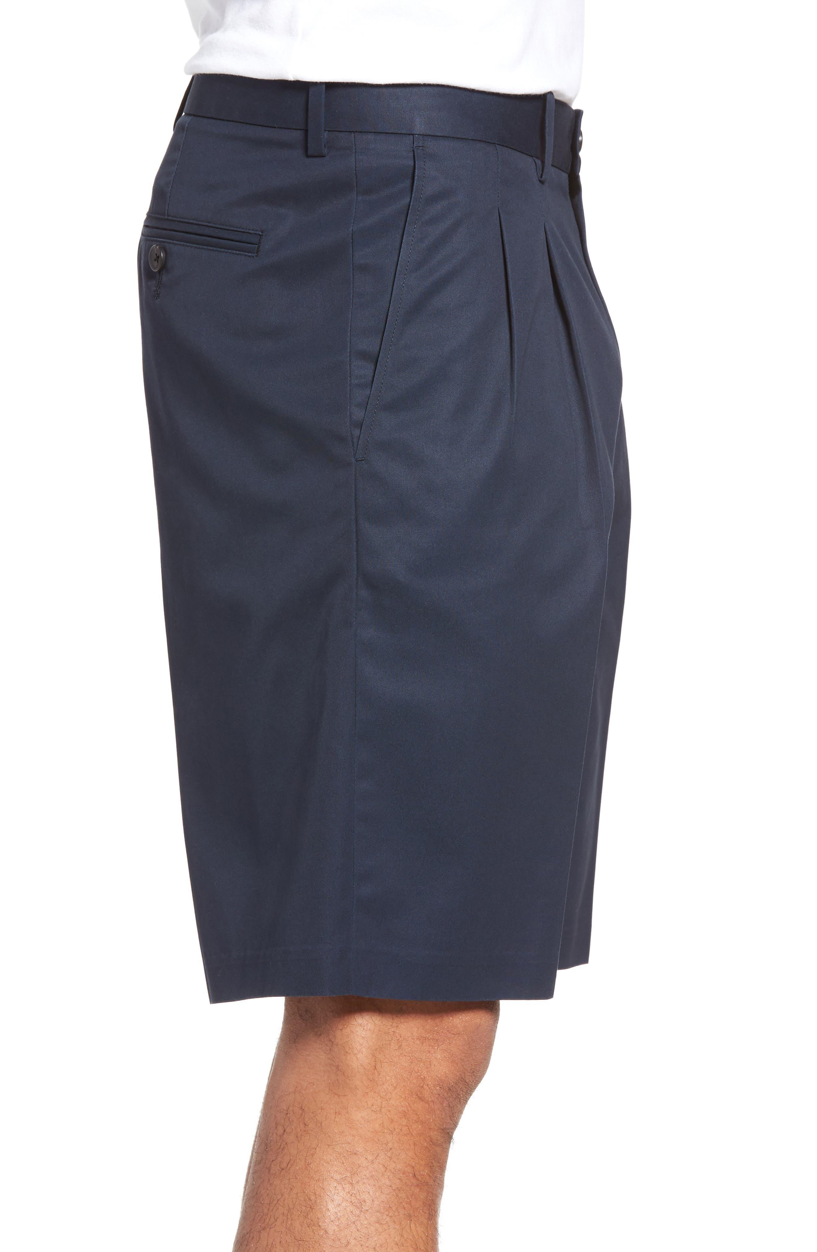 Pleated Supima<sup>®</sup> Cotton Shorts,                             Alternate thumbnail 15, color,