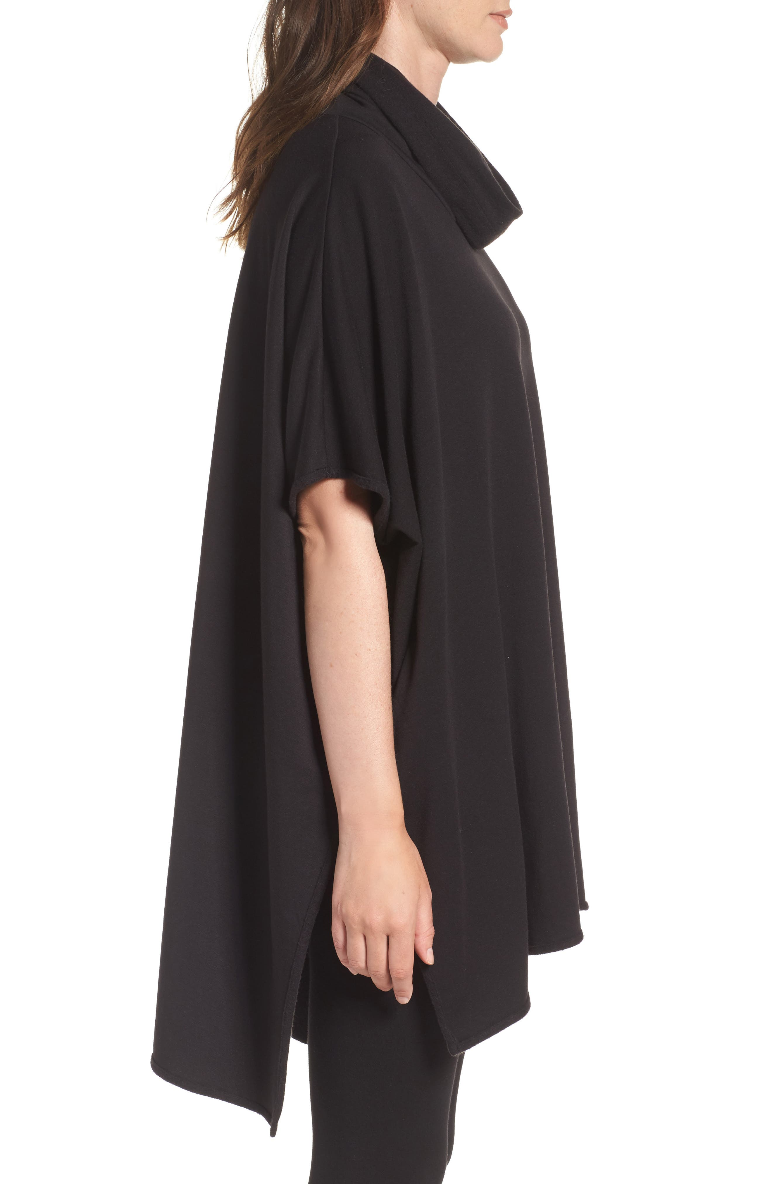 Brushed Jersey Poncho,                             Alternate thumbnail 5, color,