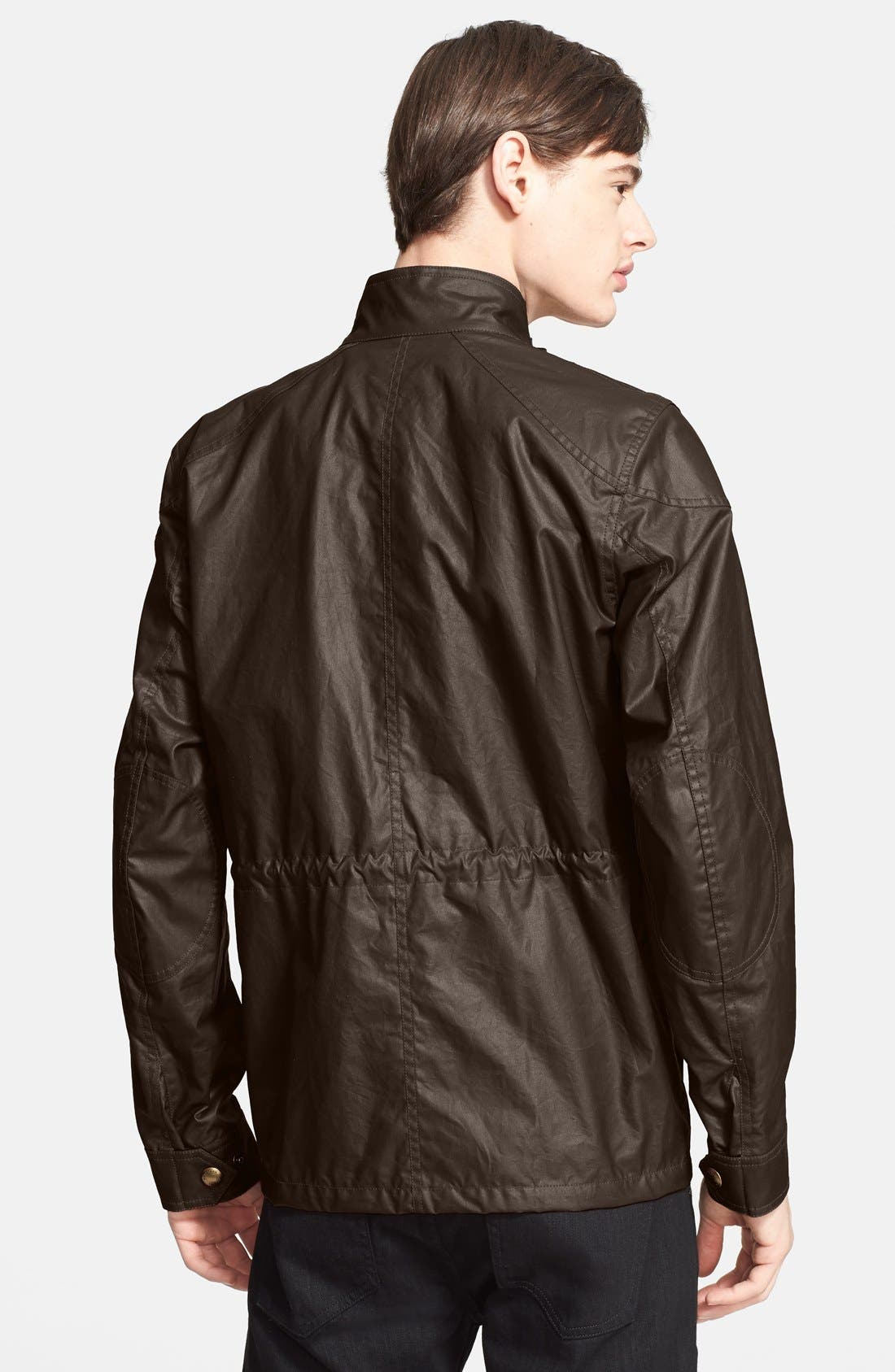 'Trialmaster 2015' Waxed Cotton Jacket,                             Alternate thumbnail 5, color,
