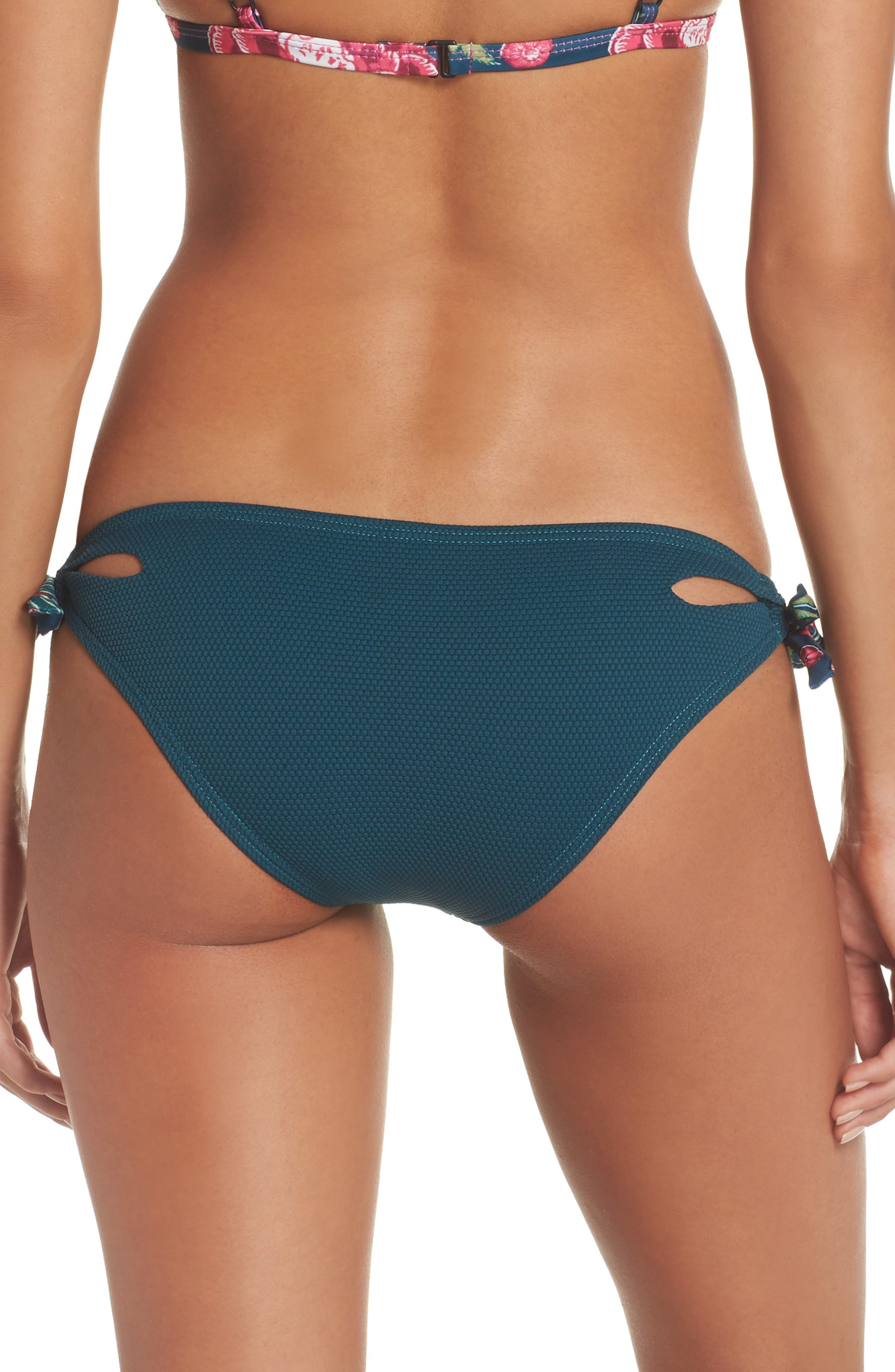 Side Tie Bikini Bottoms,                             Alternate thumbnail 2, color,                             448