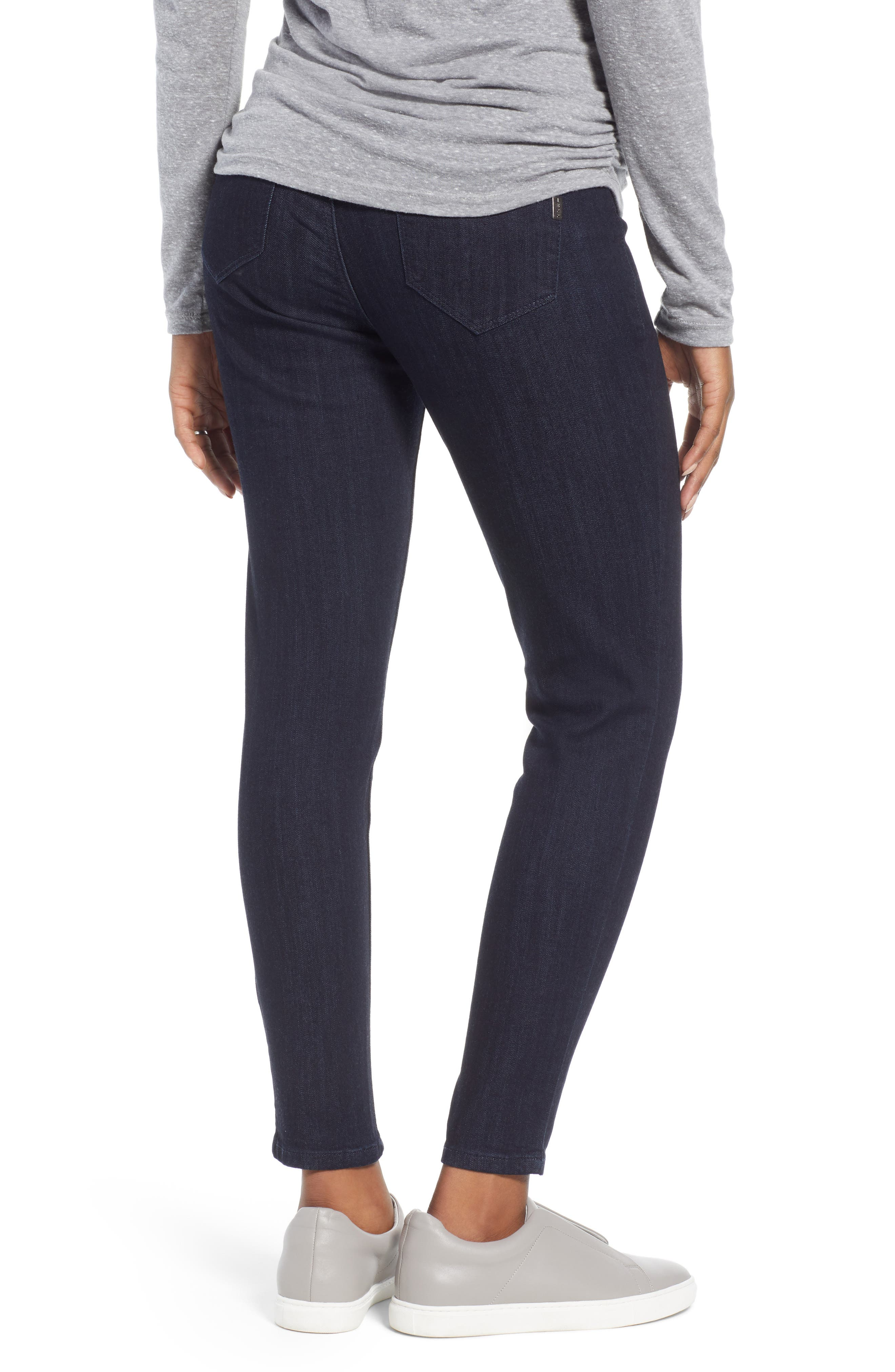 Ankle Skinny Maternity Jeans,                             Alternate thumbnail 2, color,                             RINSE