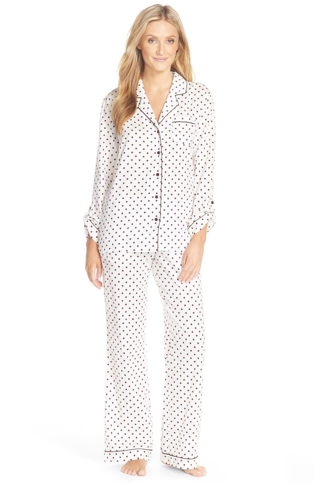 Cotton Twill Pajamas,                             Main thumbnail 10, color,
