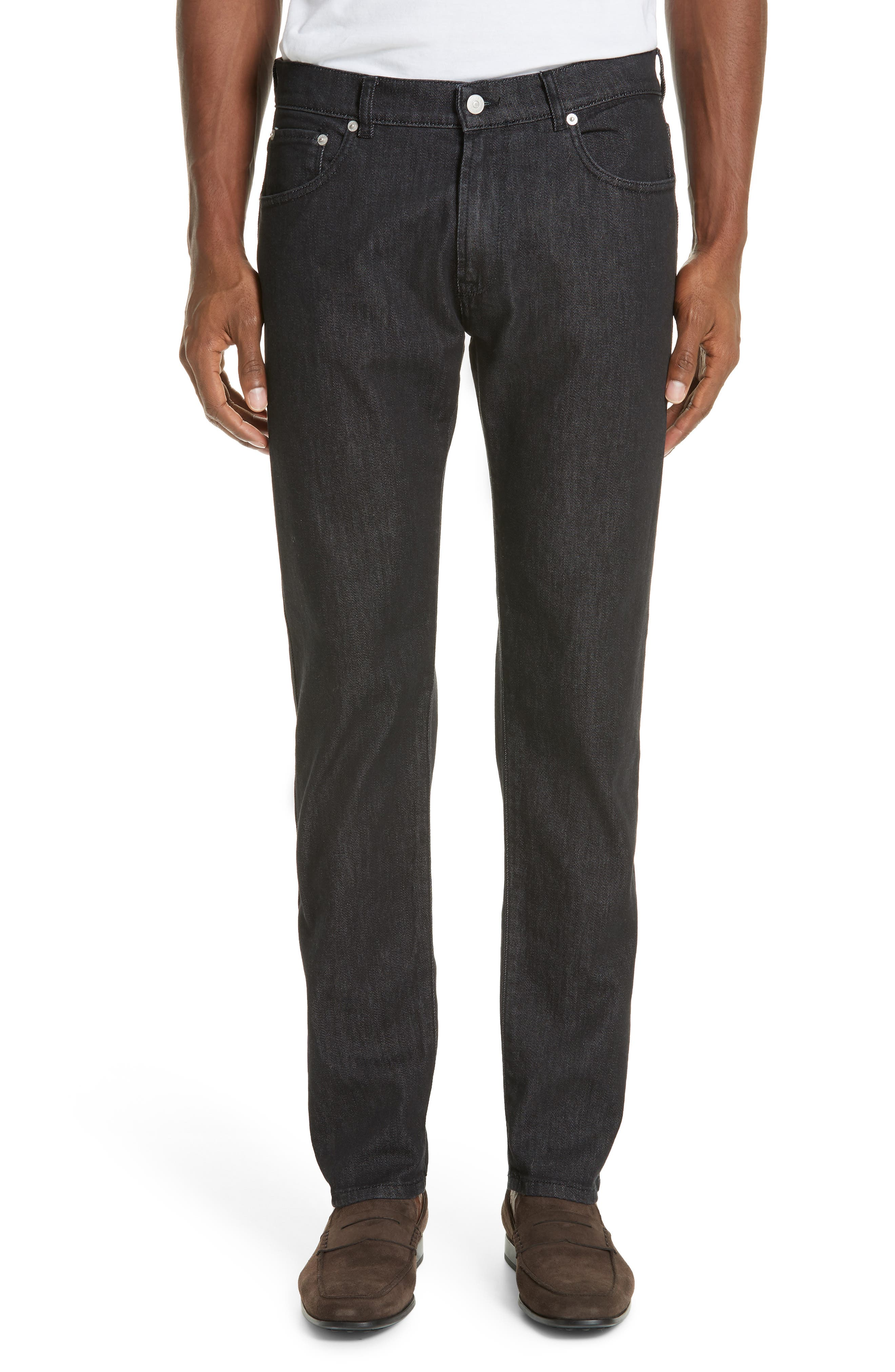 EIDOS Trim Fit Jeans in Black