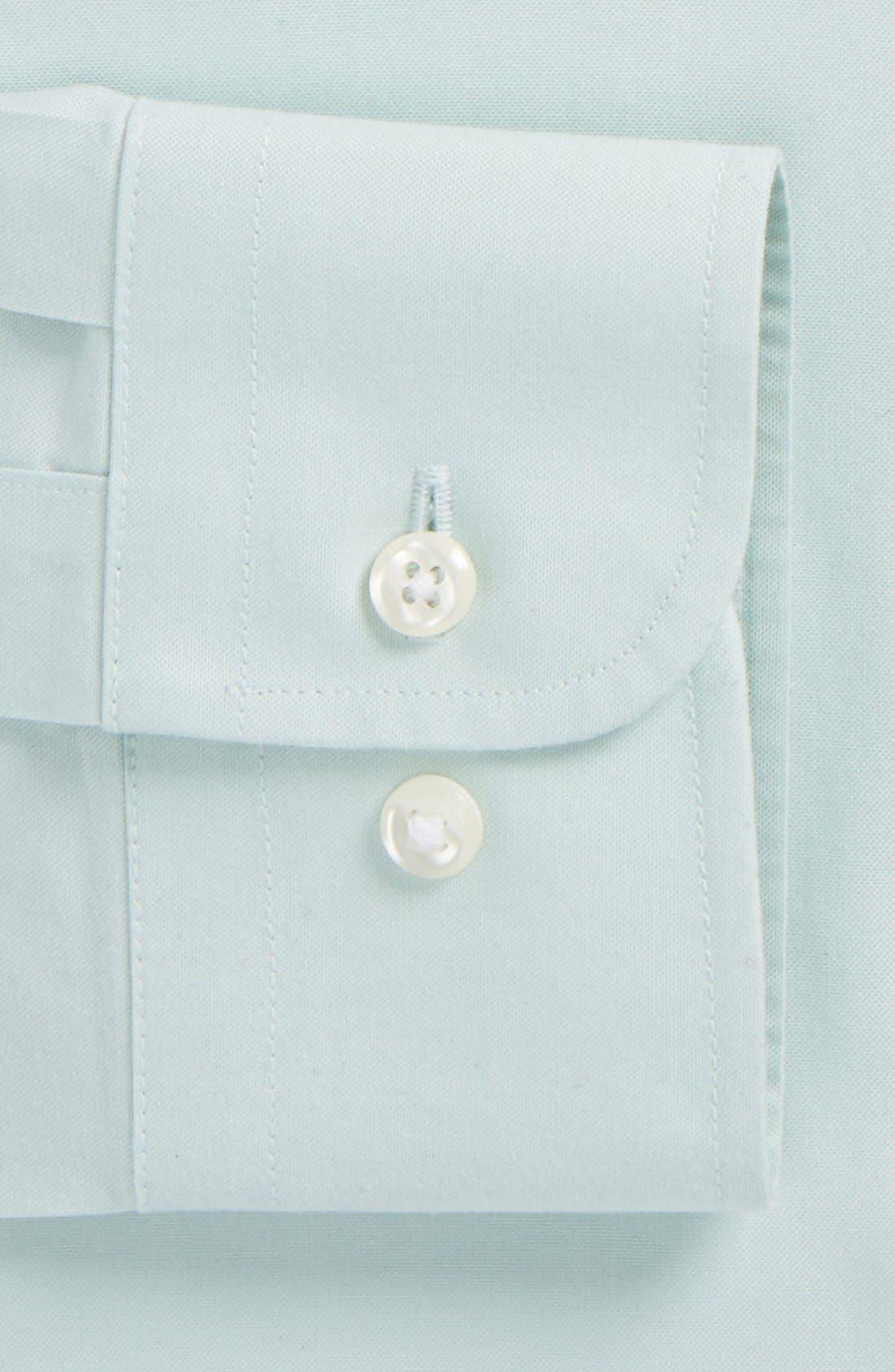 Smartcare<sup>™</sup> Trim Fit Solid Dress Shirt,                             Alternate thumbnail 25, color,