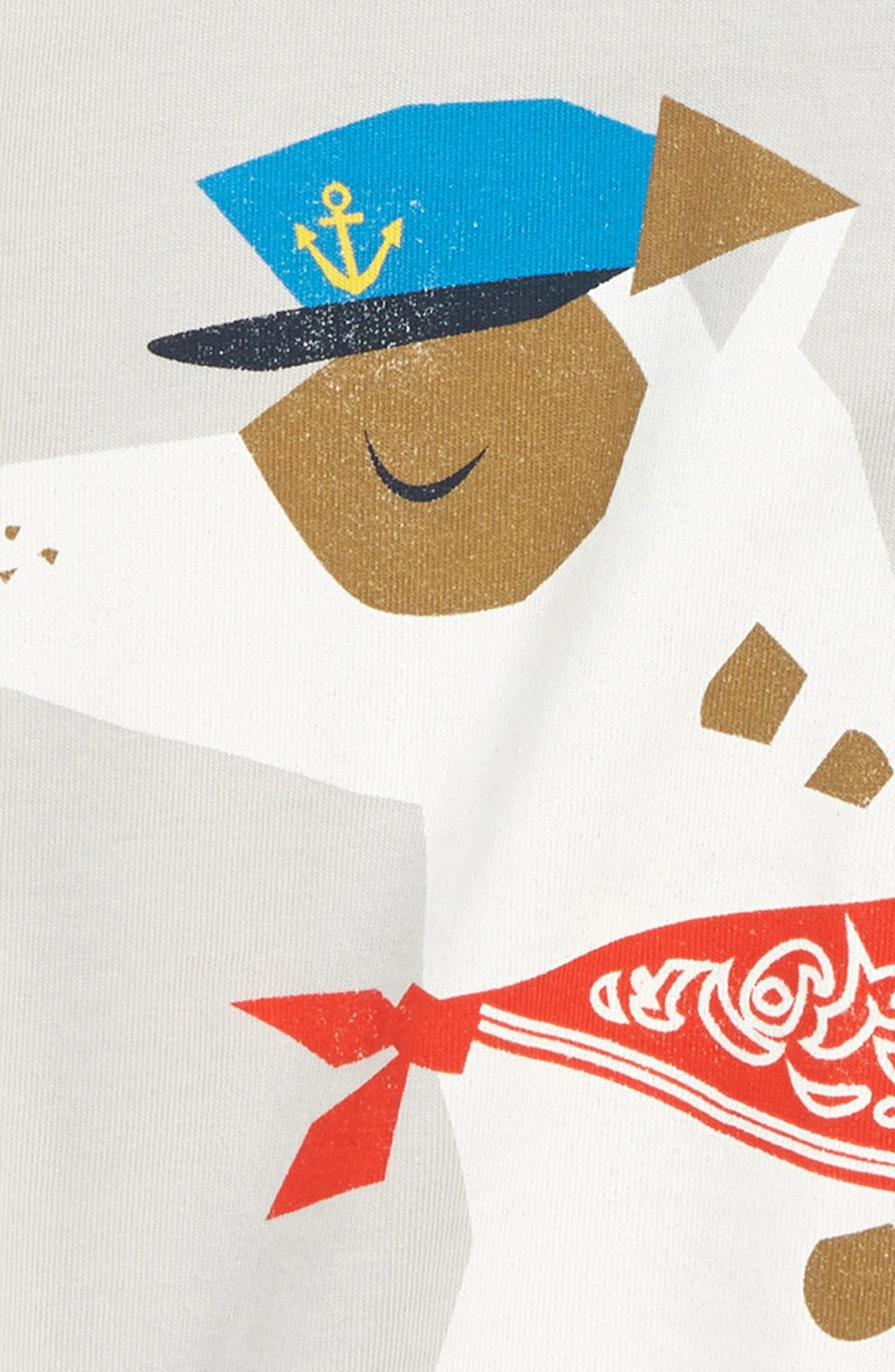 Salty Dog Graphic Raglan T-Shirt,                             Alternate thumbnail 2, color,                             VAPOR