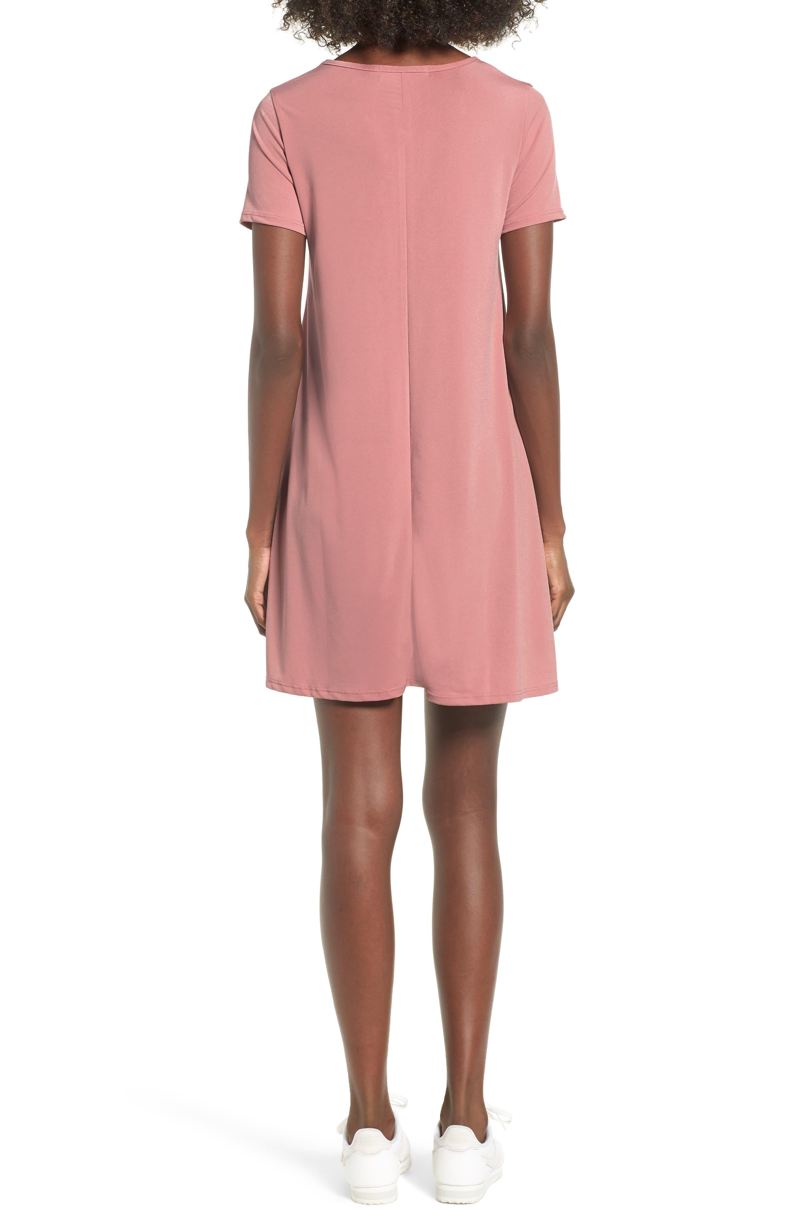 Swing T-Shirt Dress,                             Alternate thumbnail 4, color,
