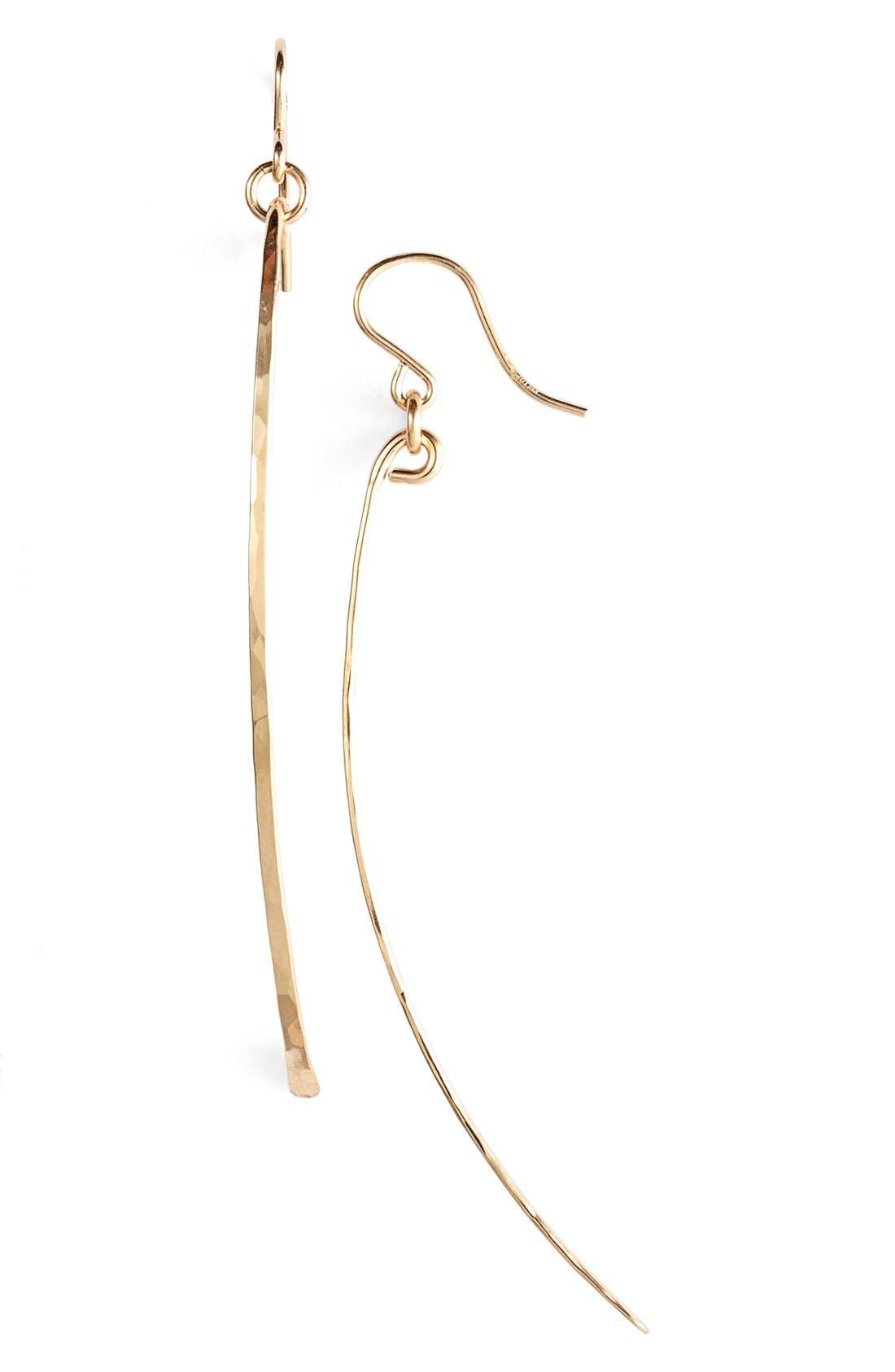 Ija Twig Drop Earrings,                             Main thumbnail 1, color,                             14K GOLD FILL