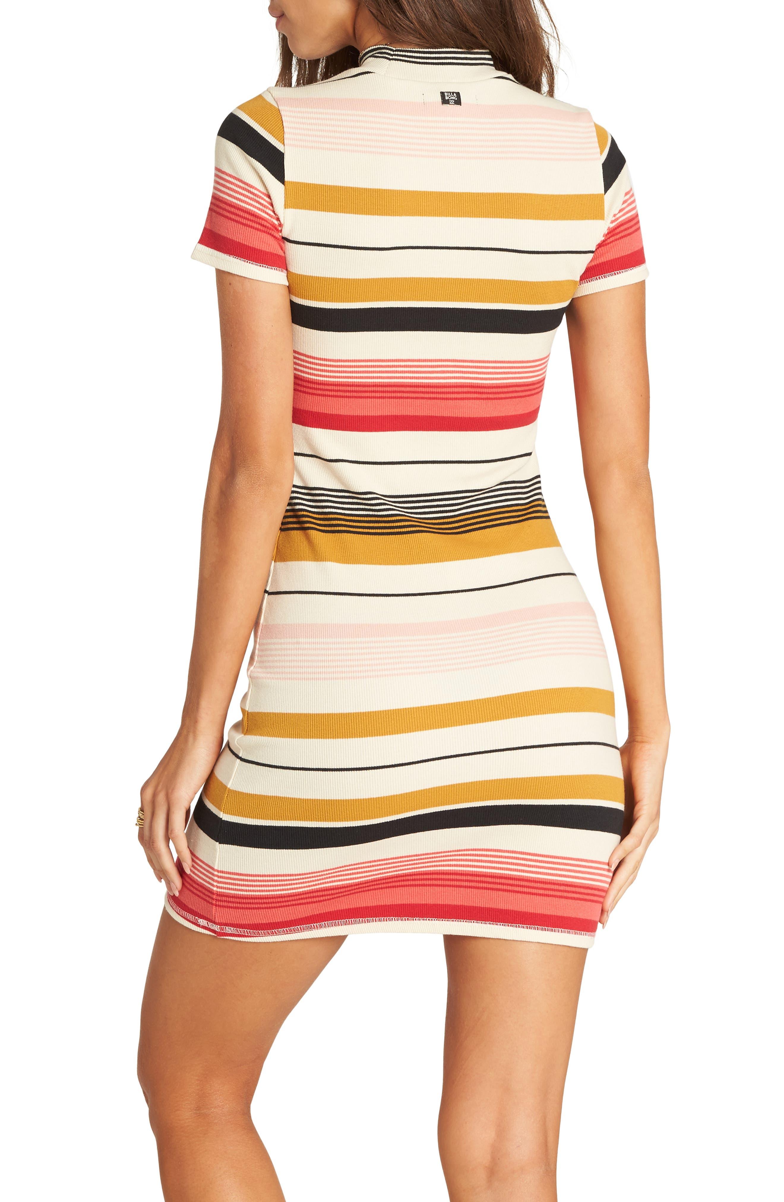 Stay Golden Body-Con Dress,                             Alternate thumbnail 2, color,                             MULTI